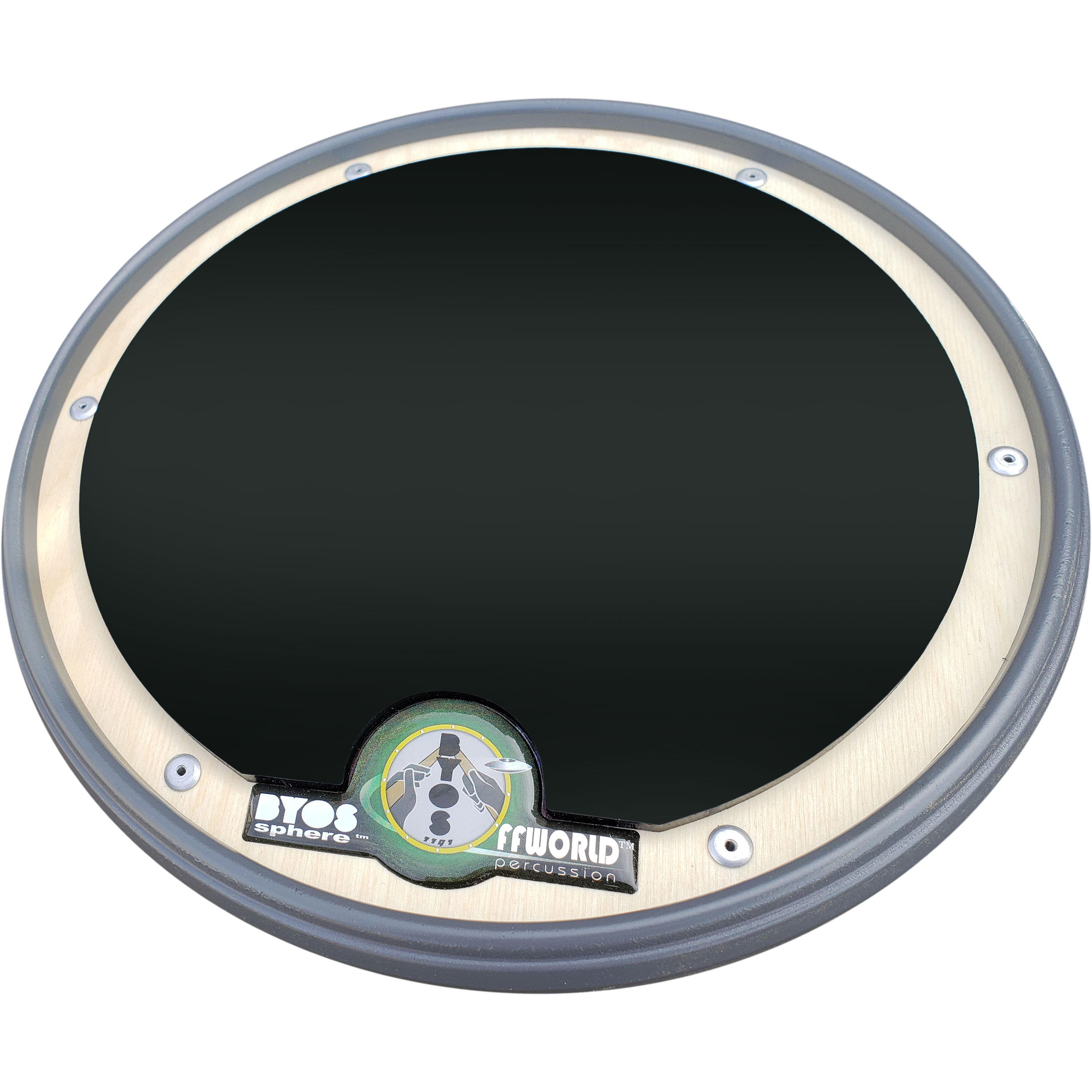 Offworld Percussion BYOSphere Practice Pad