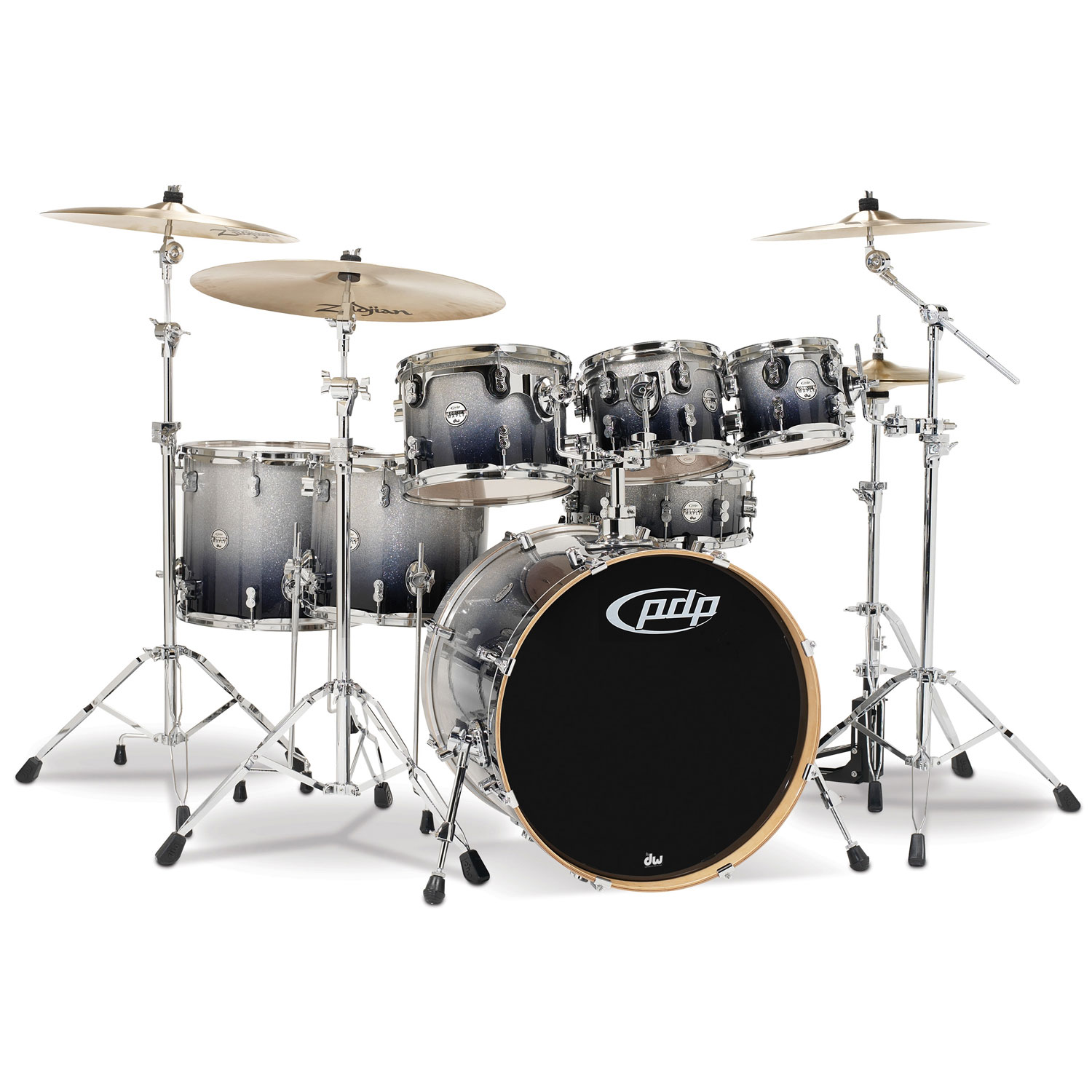 "PDP CM7 Concept Maple 7-Piece Drum Set Shell Pack (22"" Bass, 8/10/12/14/16"" Toms, 14"" Snare)"