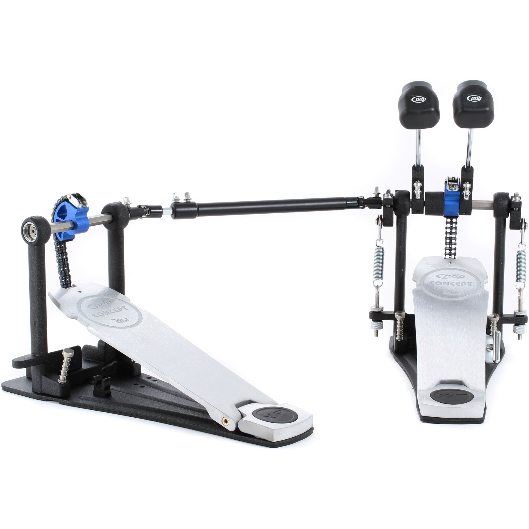 PDP Concept Double Bass Drum Pedal with Extended Footboard