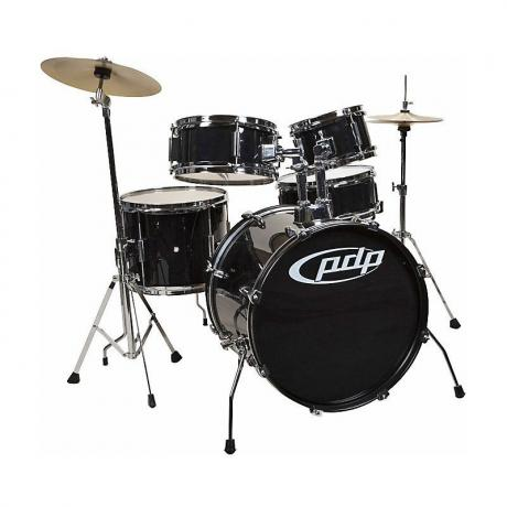 PDP 5-Piece Junior Drum Set with Hardware & Cymbals