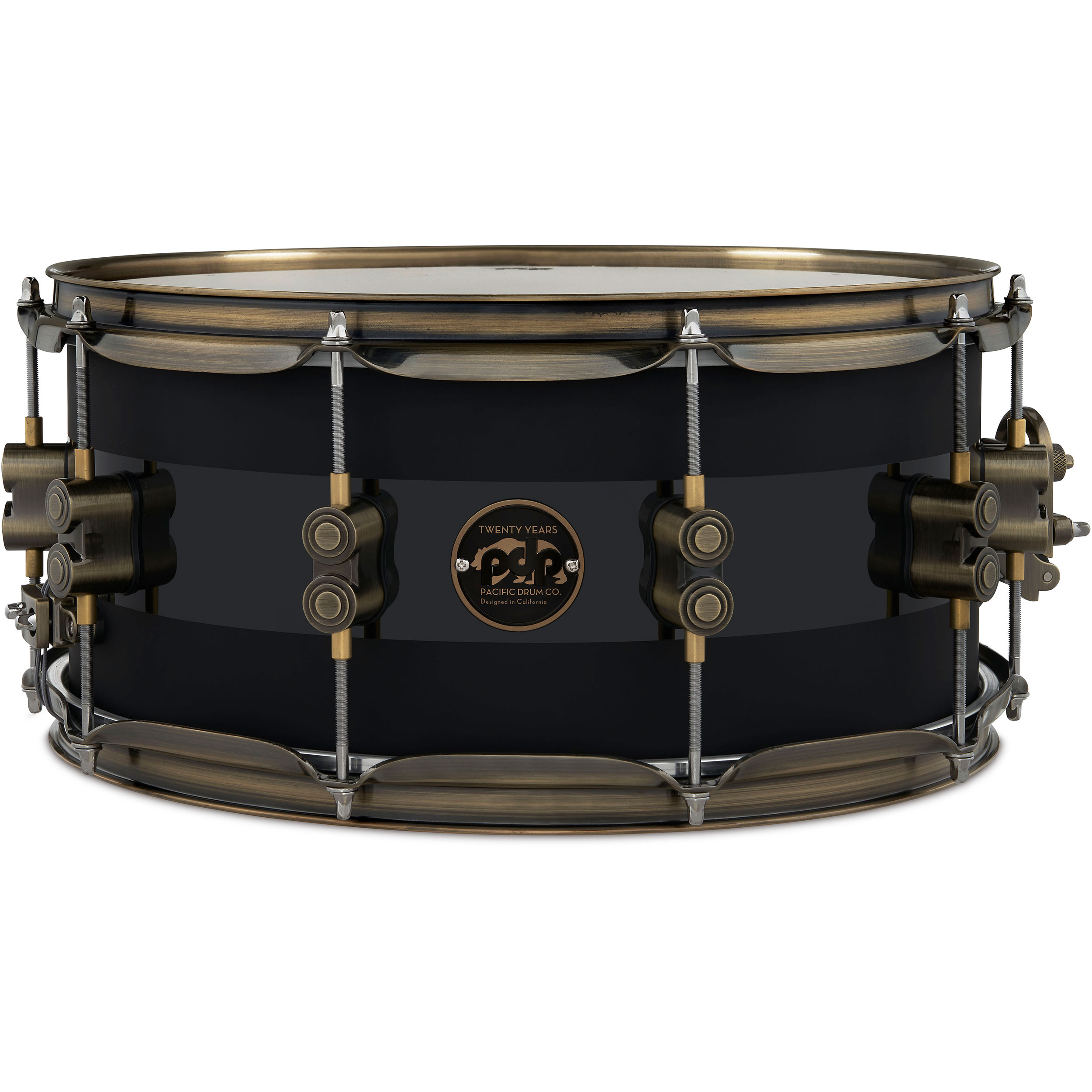 """PDP 6.5"""" x 14"""" Limited Edition 20th Anniversary Snare Drum"""