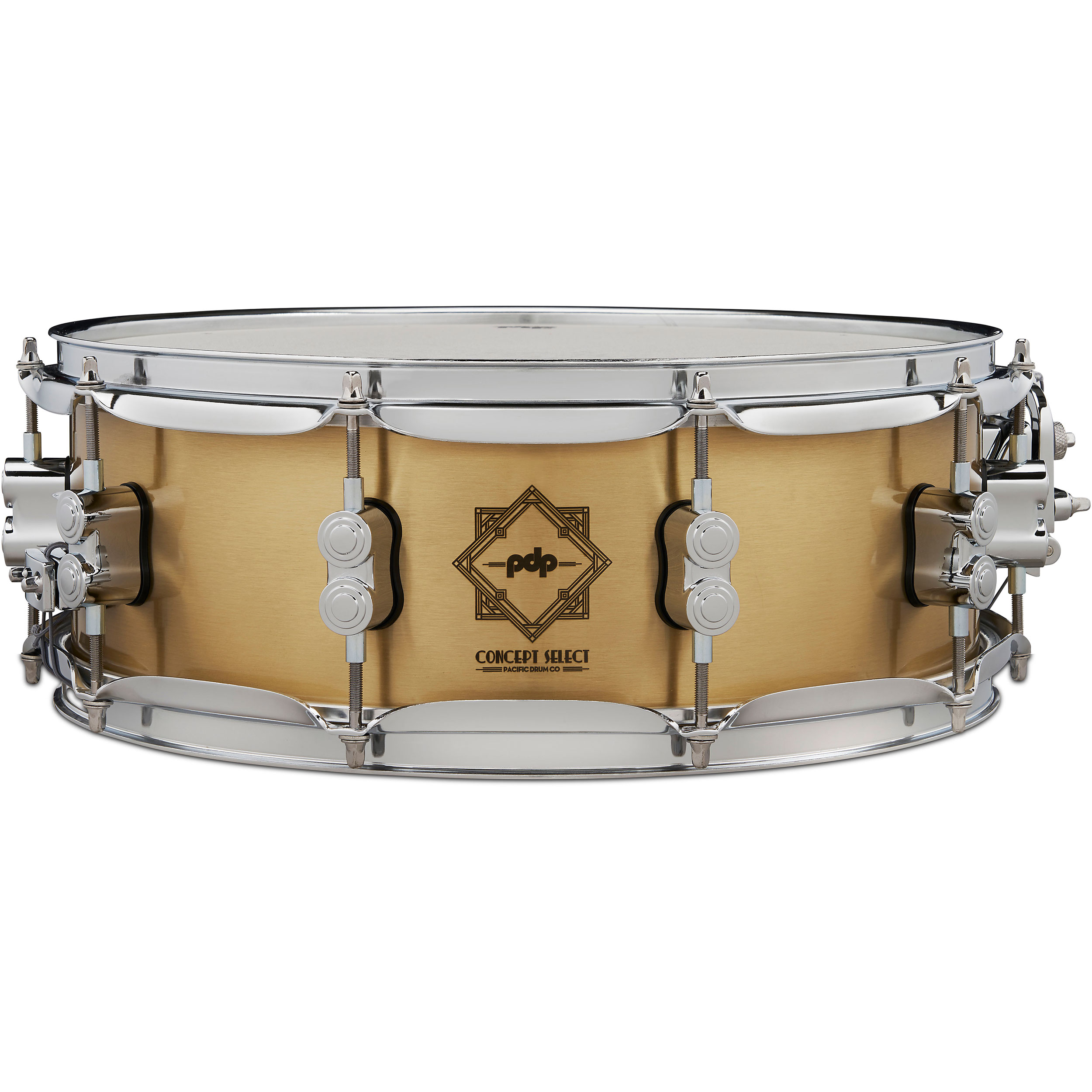 """PDP 5"""" x 14"""" Concept Select 4.5mm Bell Bronze Snare Drum"""