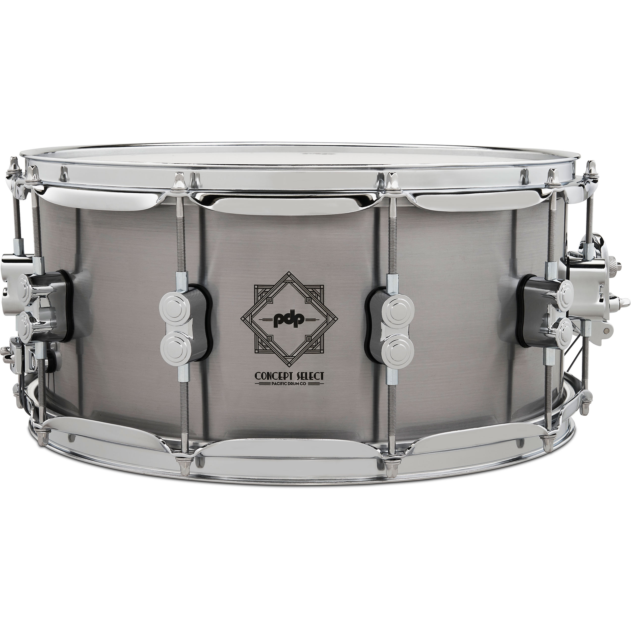 "PDP 6.5"" x 14"" Concept Select 3mm Steel Snare Drum"