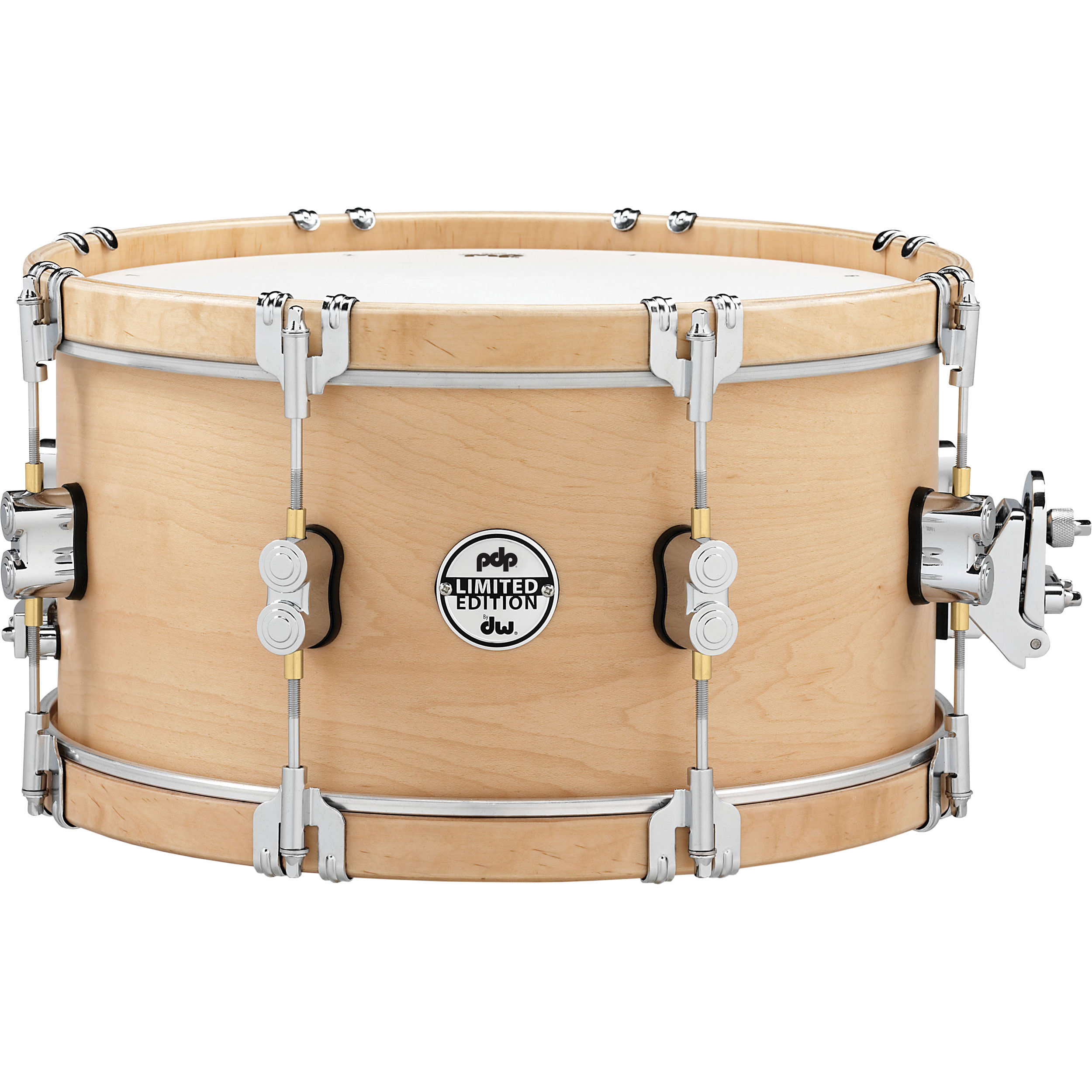 """PDP 7"""" x 14"""" Limited Edition Classic Wood Hoop Snare Drum"""