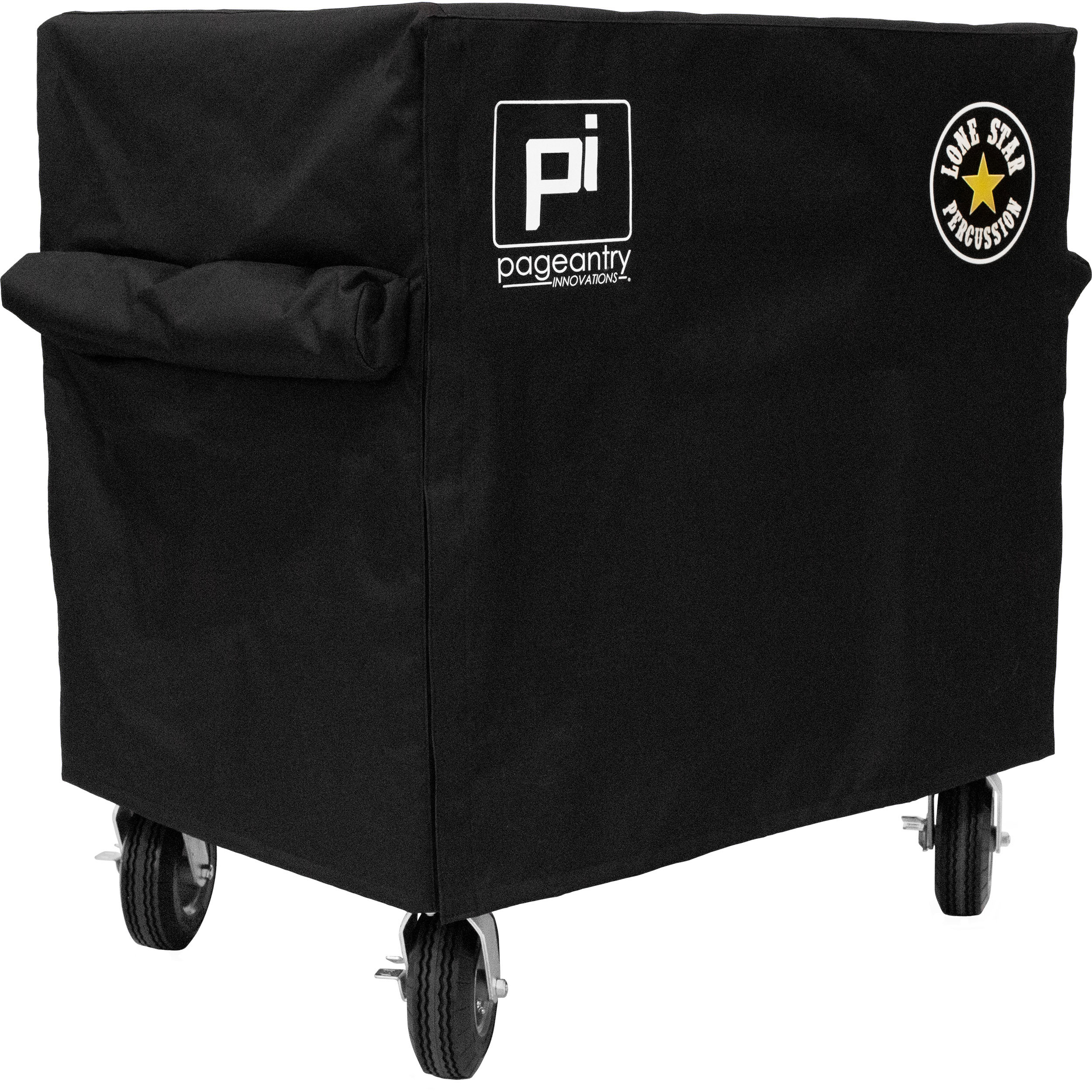 Pageantry Innovations Drop Cover for MC-LSP Mixer Cart with Lone Star Percussion Logo