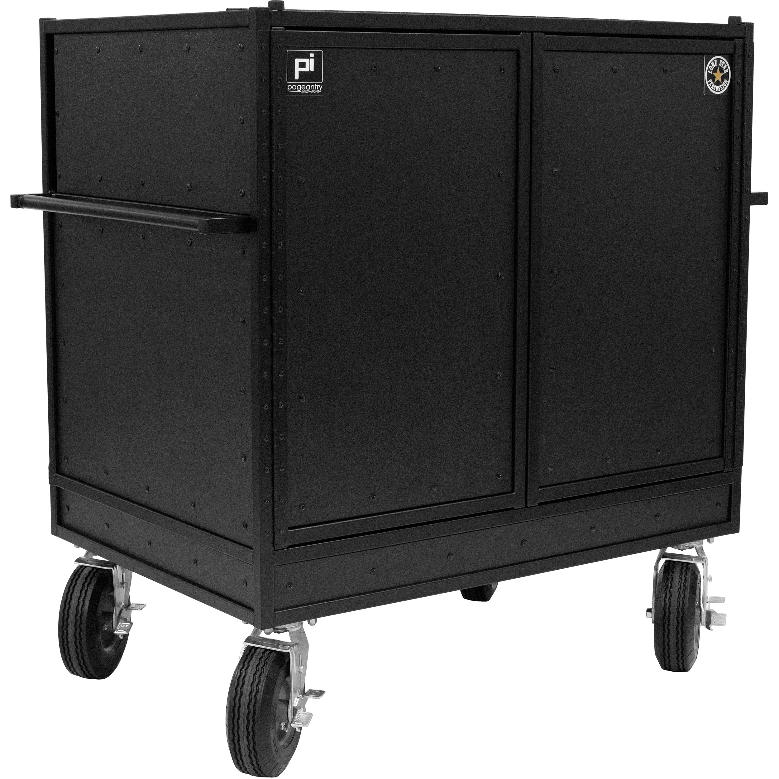 Pageantry Innovations LSP Exclusive Stealth Series Double Mixer Cart
