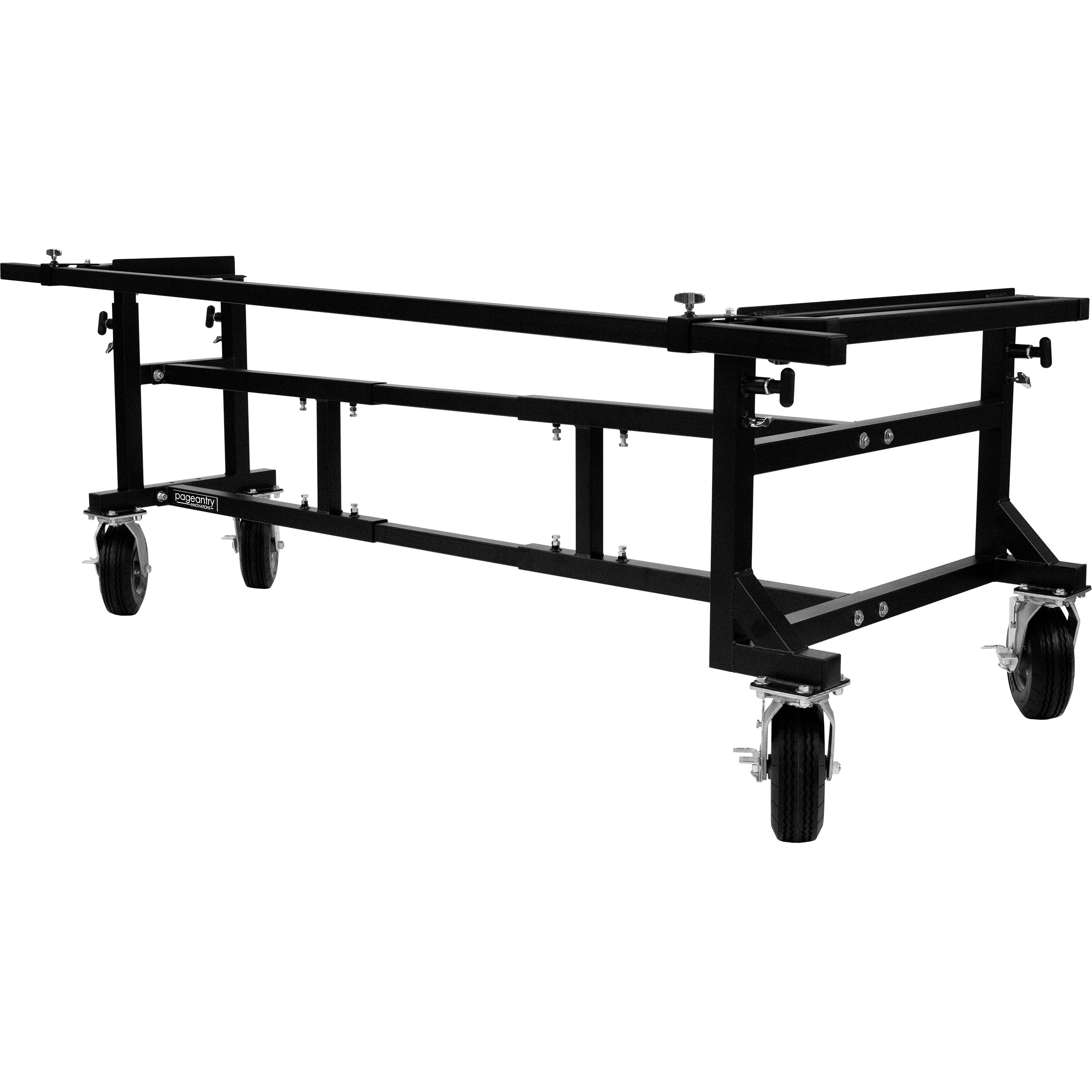 "Pageantry Innovations Large Universal Mallet Instrument Cart (57""-102"" Adjustable Width)"