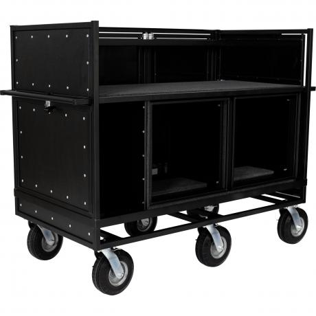 Pageantry Innovations MC-25 Standard Extended Double Mixer Cart