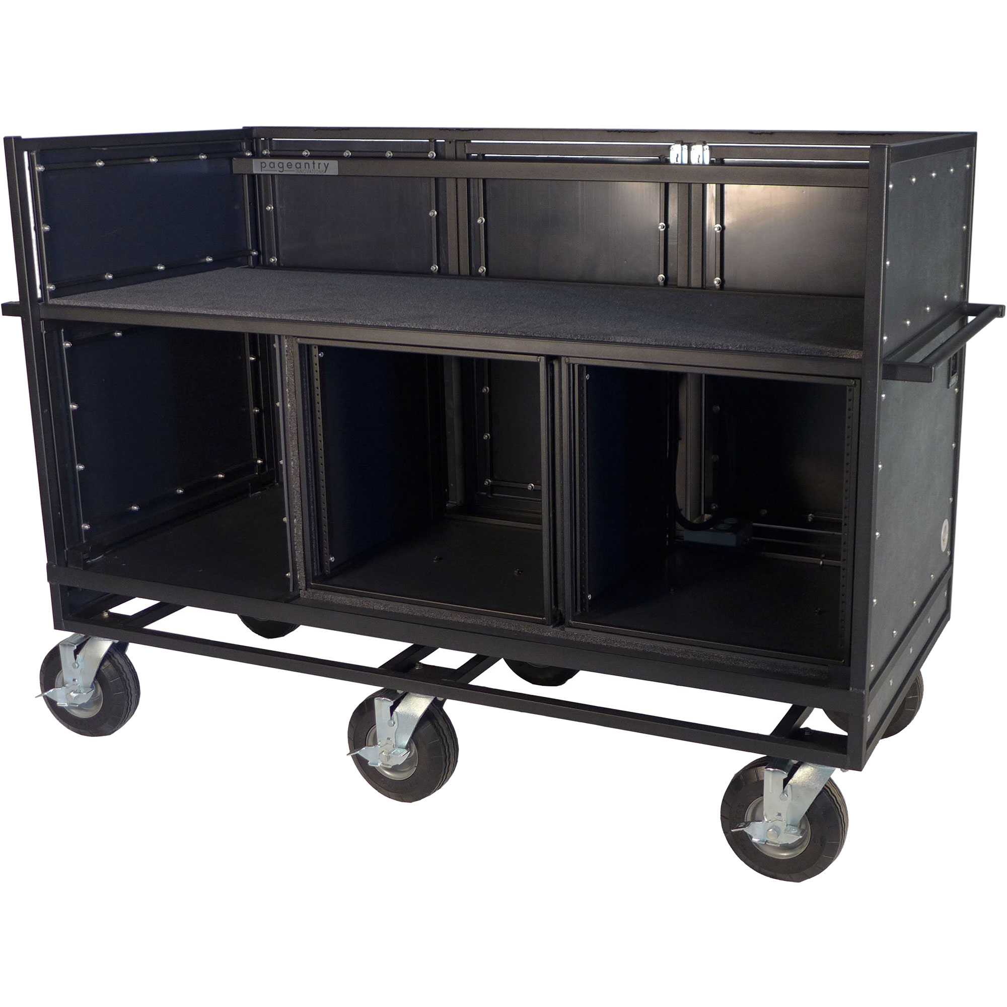 Pageantry Innovations Standard Triple Mixer Cart