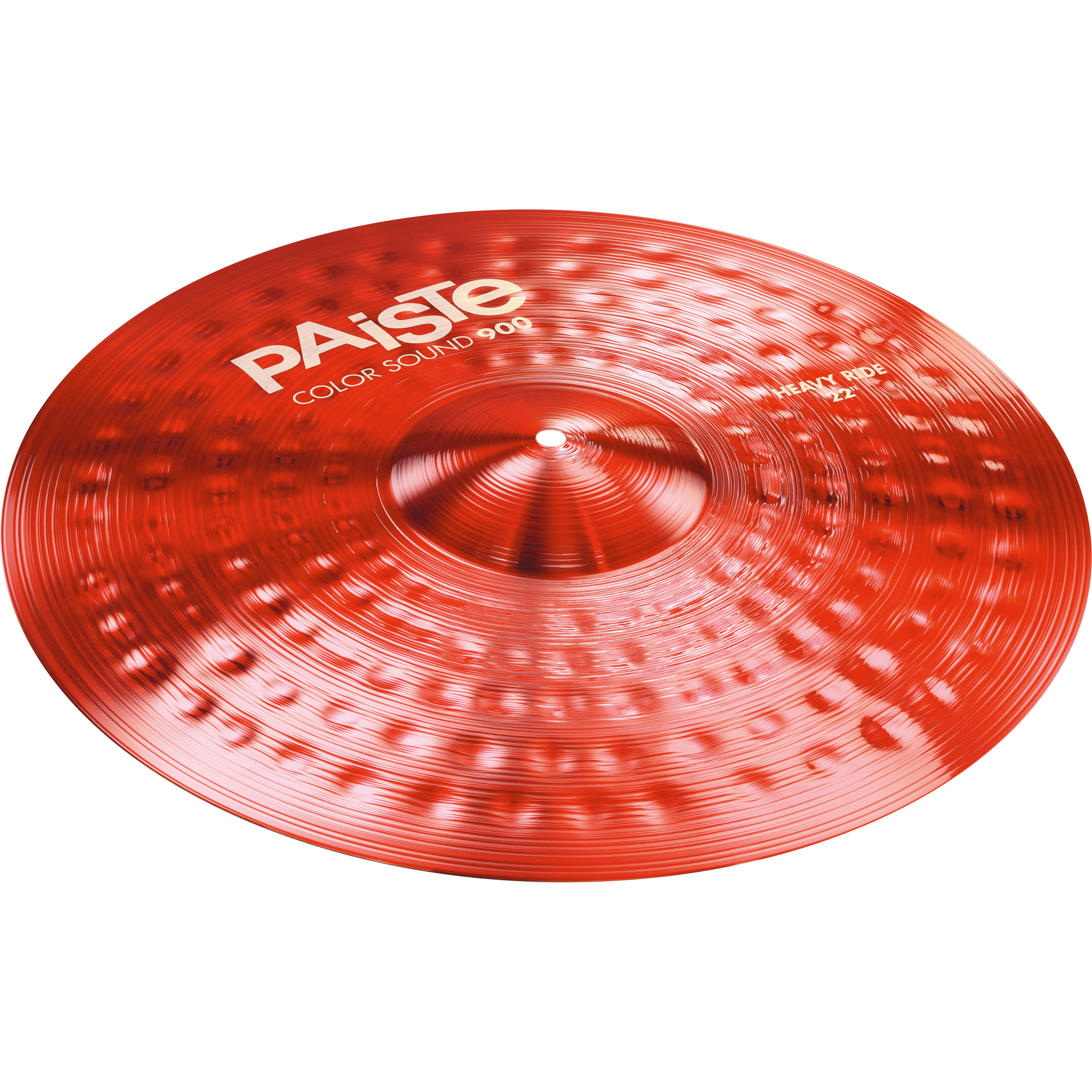 """Paiste 22"""" Color Sound 900 Red Heavy Ride Cymbal"""