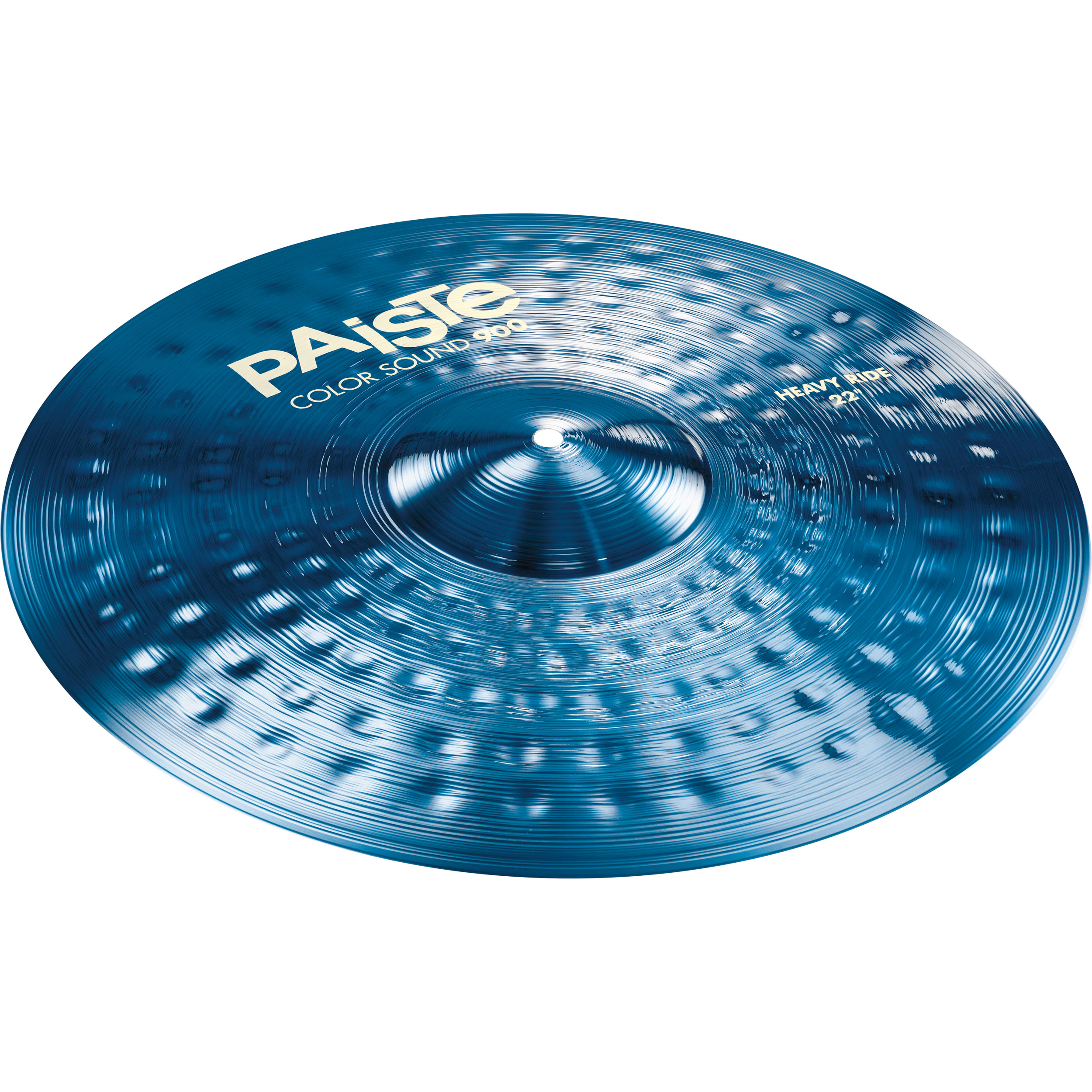 """Paiste 22"""" Color Sound 900 Blue Heavy Ride Cymbal"""