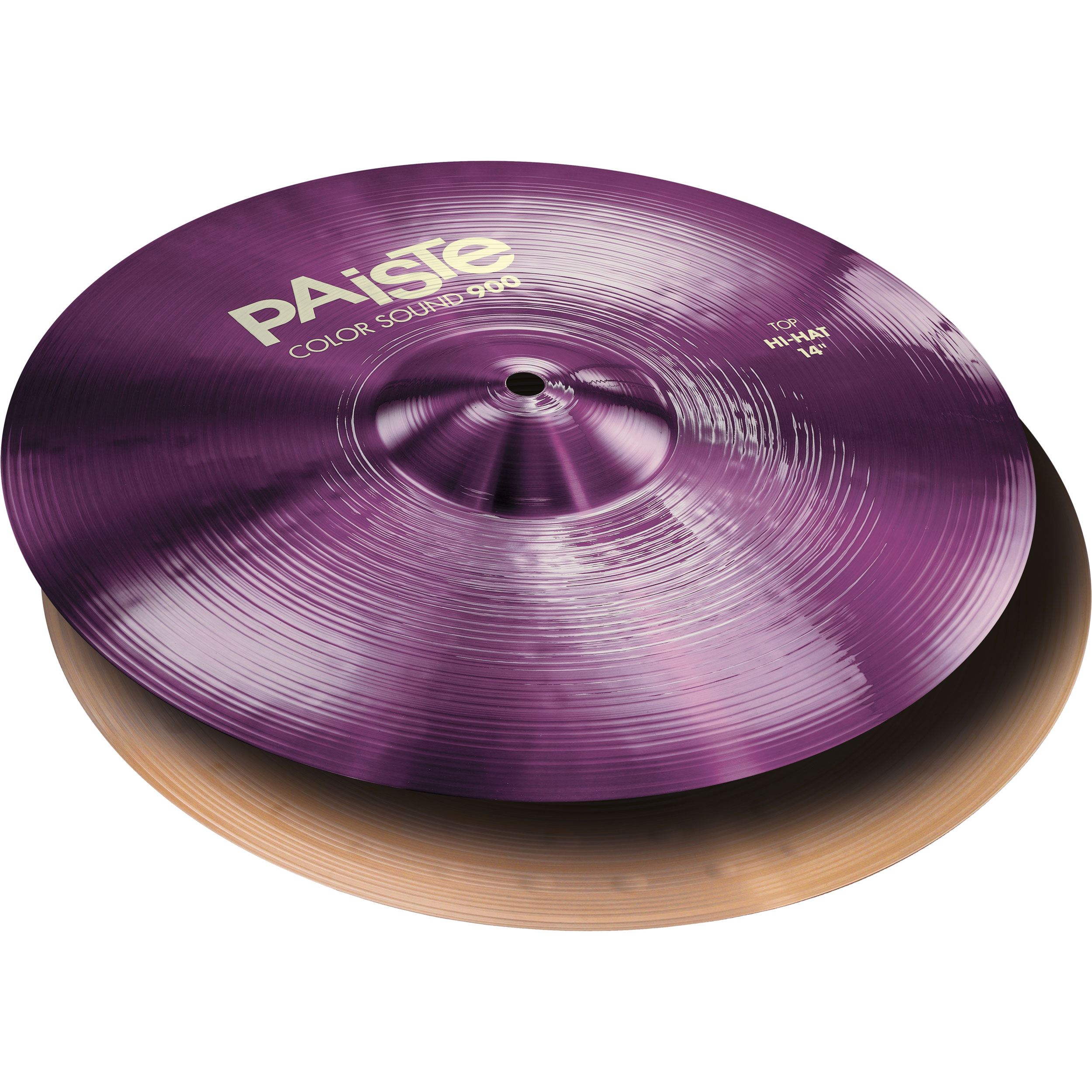 "Paiste 14"" Color Sound 900 Purple Hi Hat Cymbals"