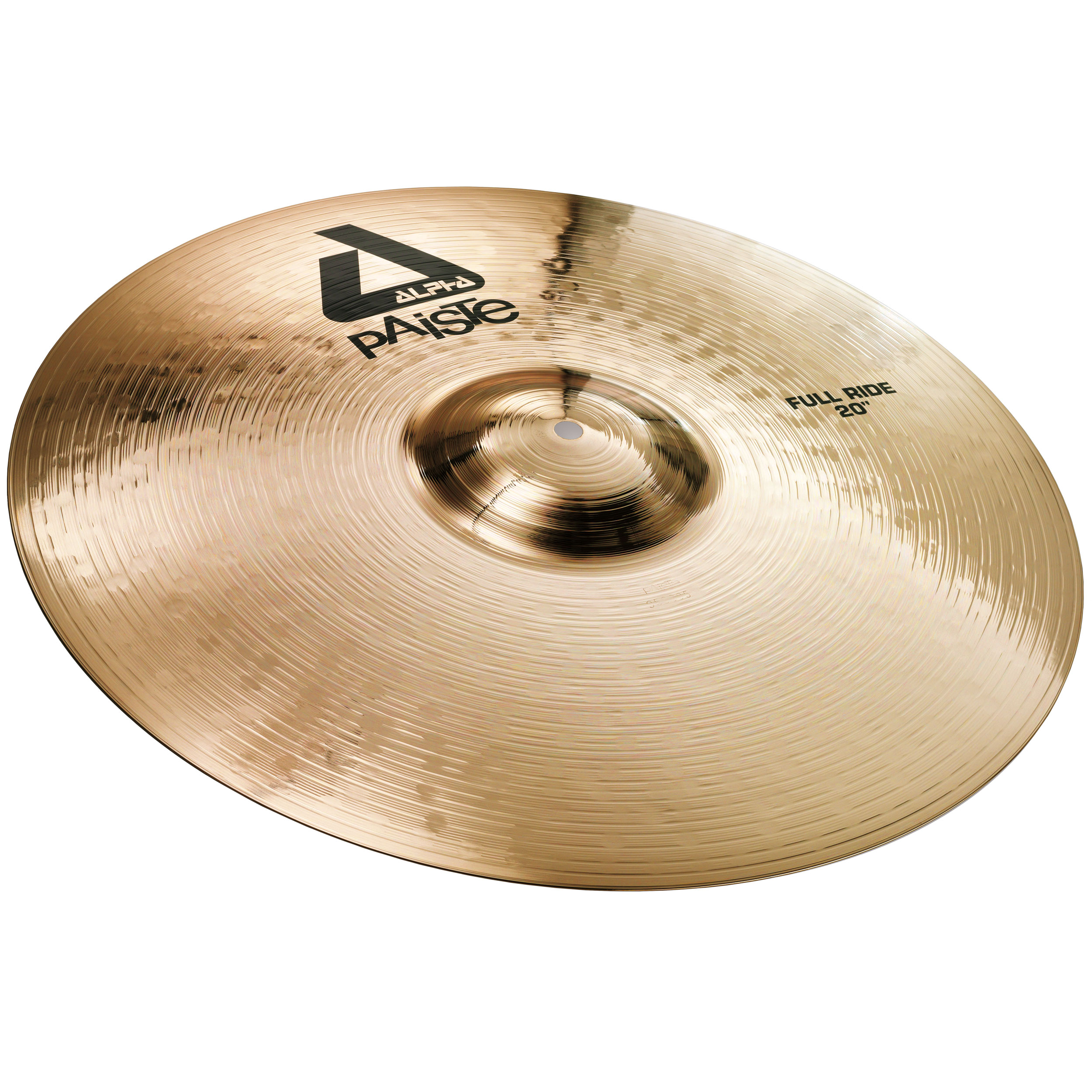 "Paiste 20"" Alpha Full Ride Cymbal with Brilliant Finish"