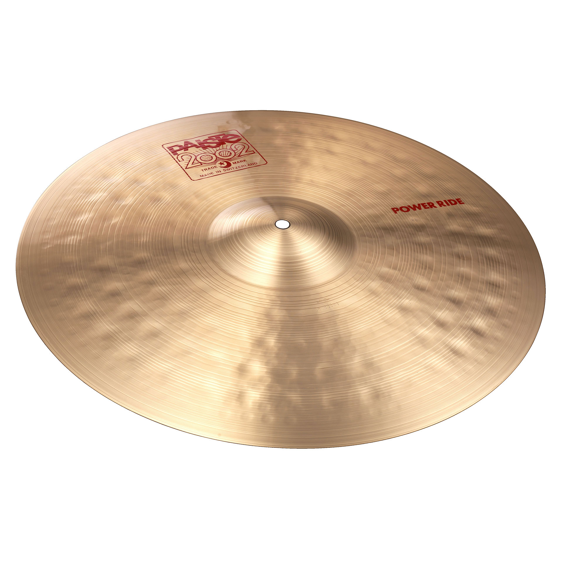 "Paiste 22"" 2002 Power Ride Cymbal"