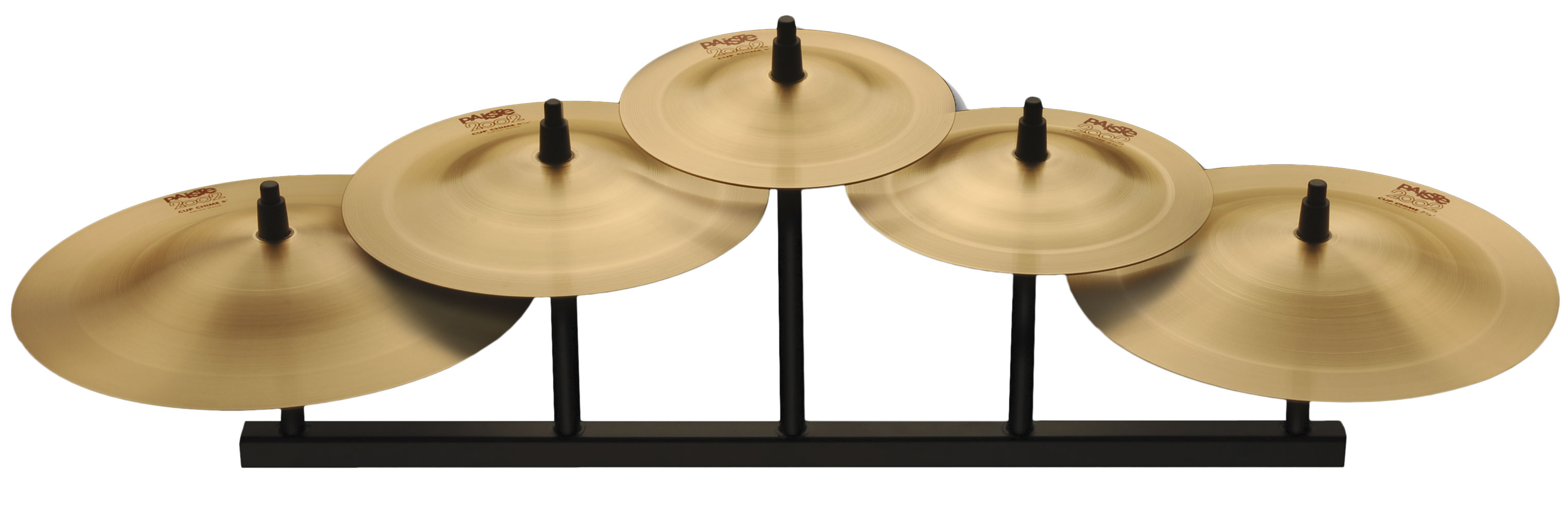 Paiste 2002 5-Piece Cup Chime Pack Cymbal Box Set