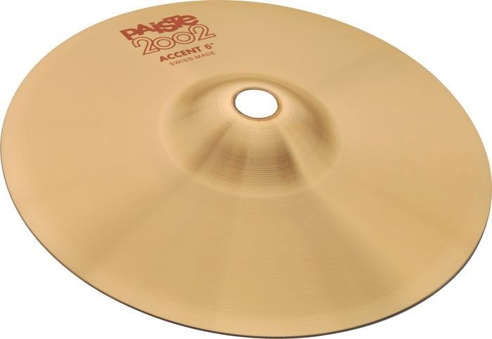 "Paiste 8"" 2002 Series Accent Cymbal Pair"