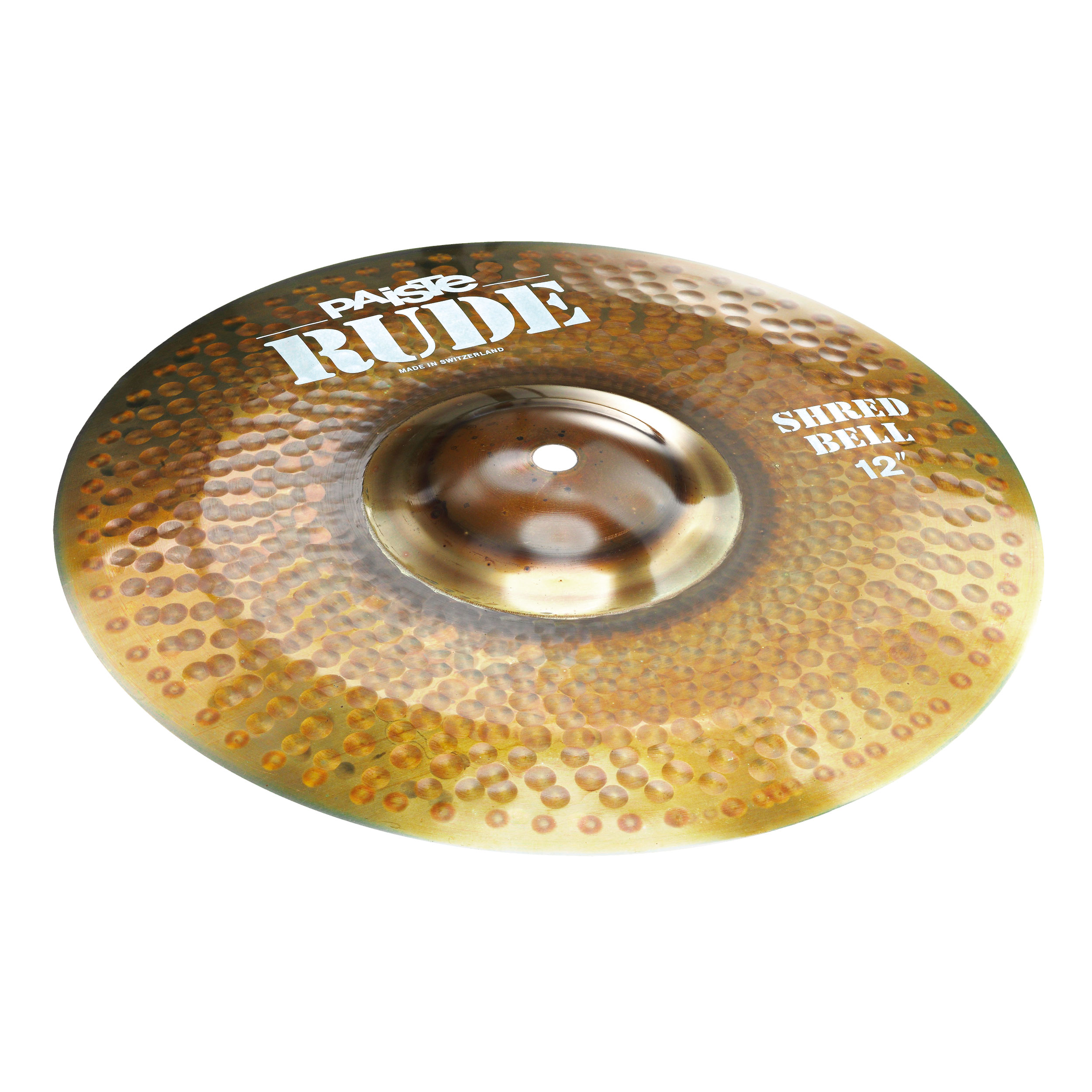 """Paiste 12"""" Rude Shred Bell Cymbal"""