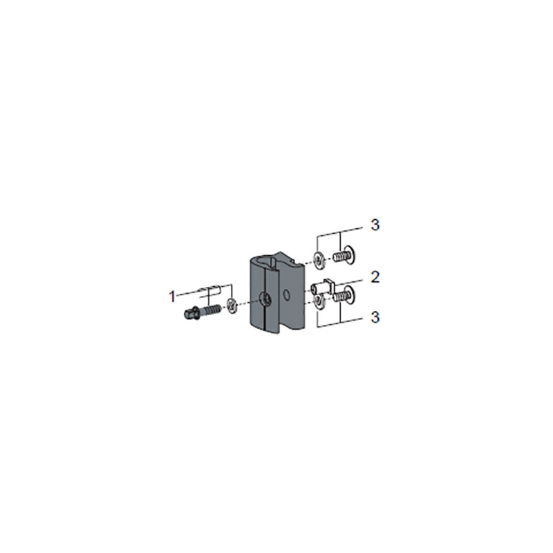 Pearl Complete J-Rod Clamp Assembly for CX Airframe Marching Carriers