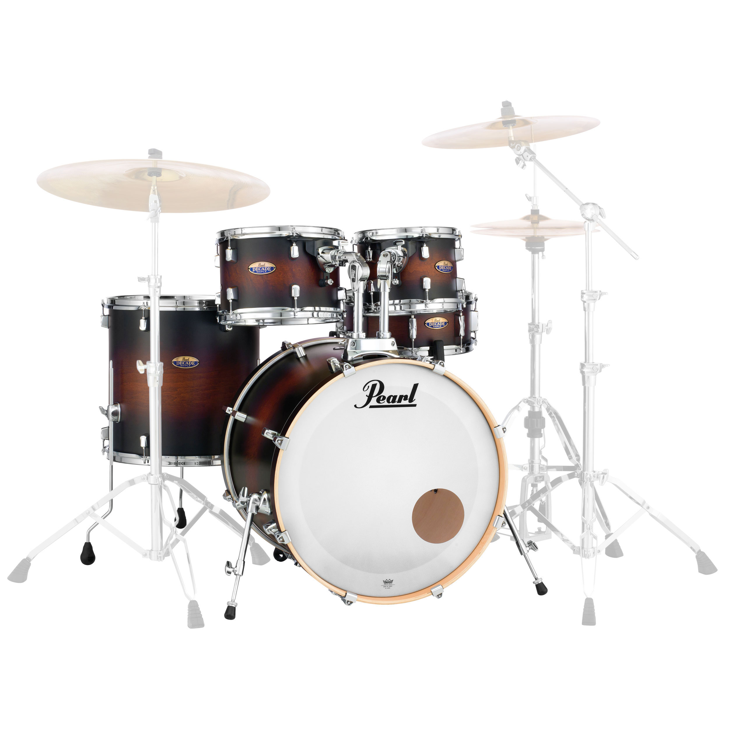 """Pearl Decade Maple 5-Piece Drum Set Shell Pack (22"""" Bass, 10/12/16"""" Toms, 14"""" Snare)"""
