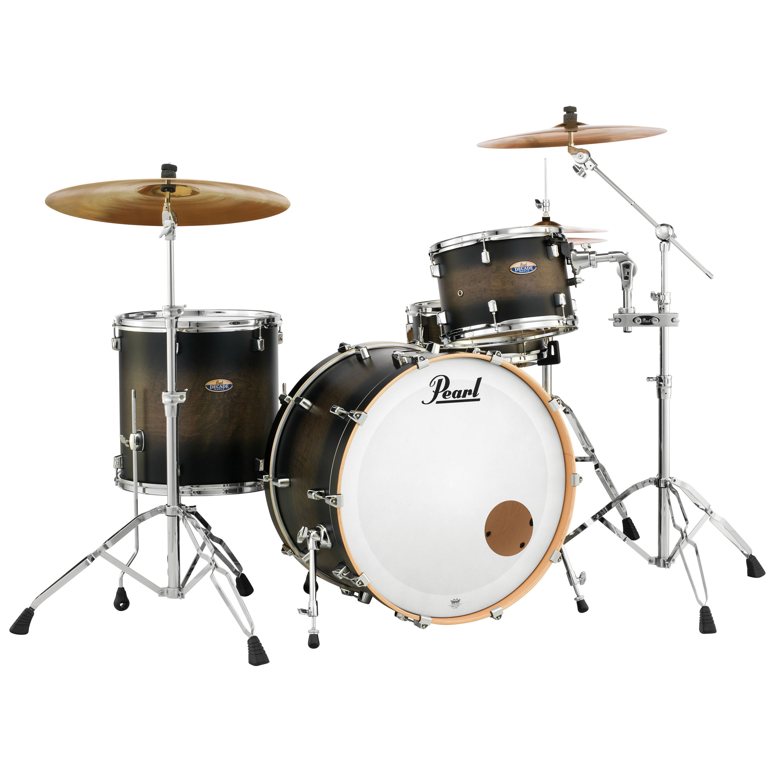 """Pearl Decade Maple 3-Piece Drum Set Shell Pack (24"""" Bass, 13/16"""" Toms)"""