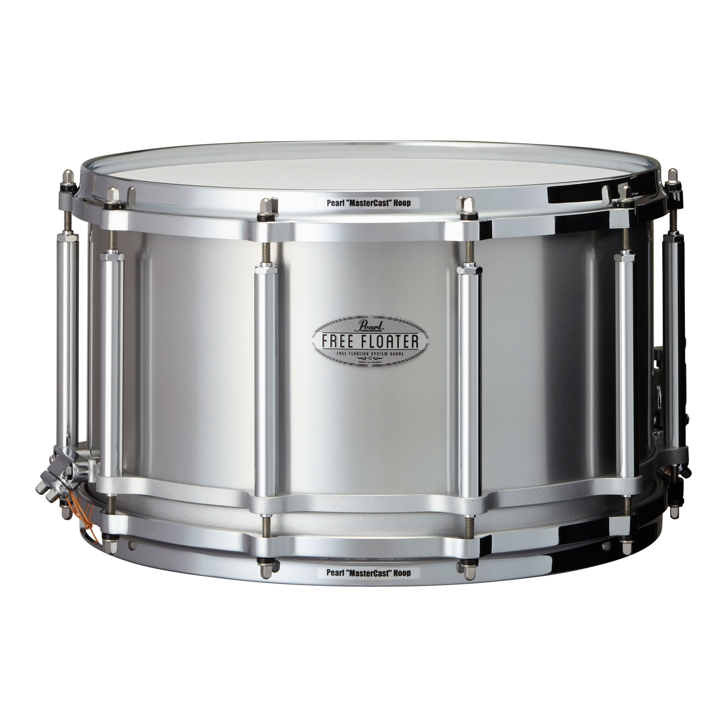 "Pearl 14"" x 8"" Task-Specific Free Floating Seamless Aluminum Snare Drum"