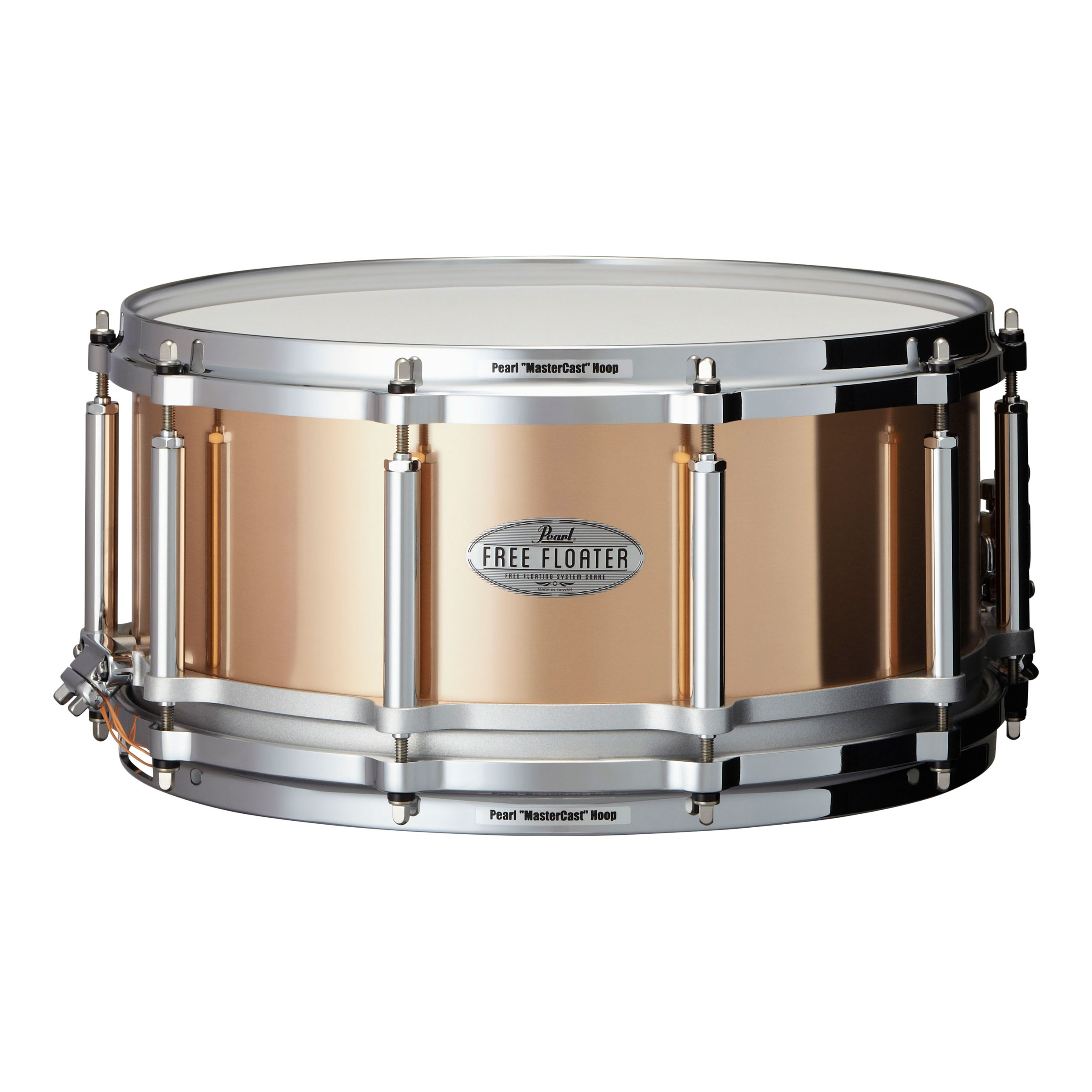 "Pearl 14"" x 6.5"" Task-Specific Free Floating Phosphor Bronze Snare Drum"