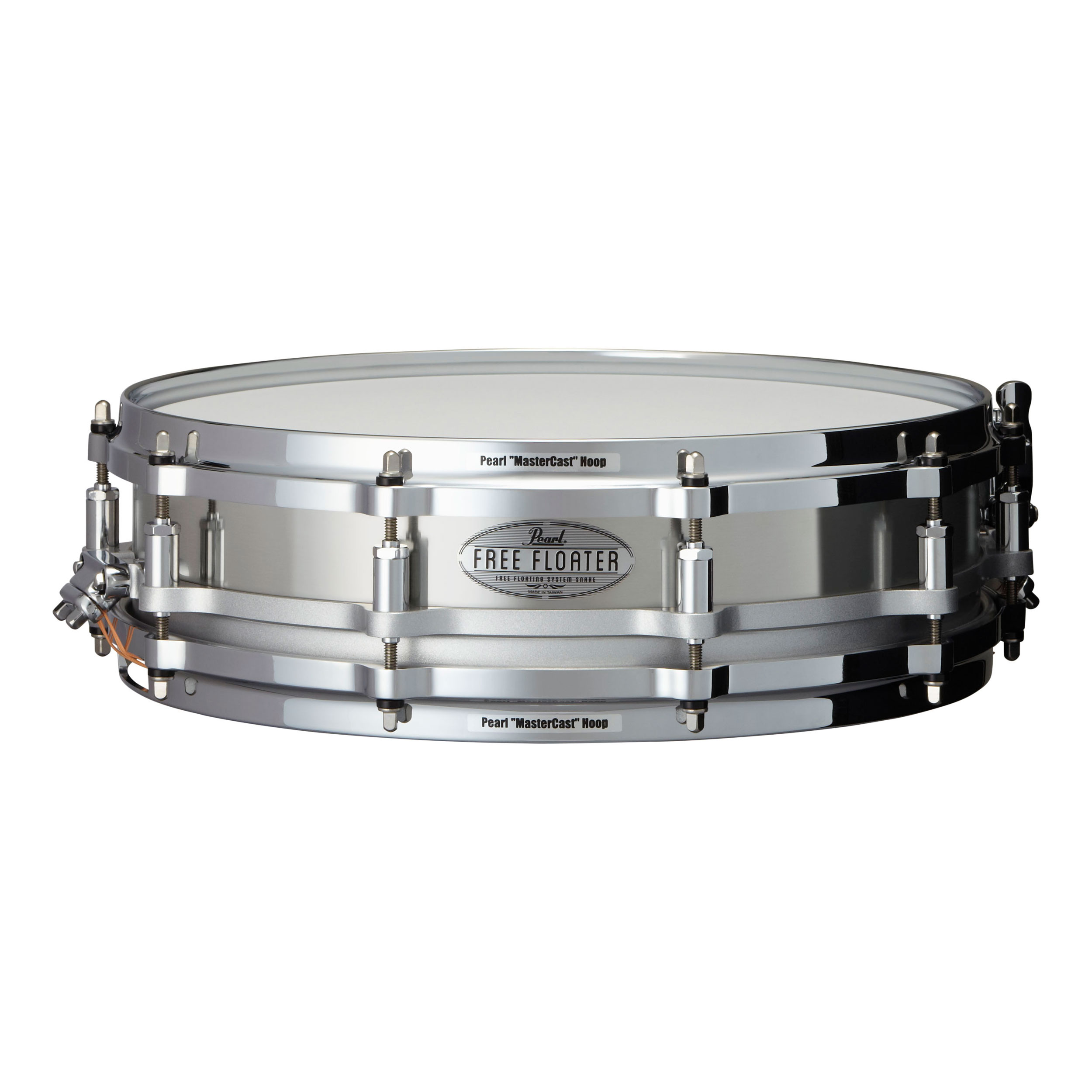 "Pearl 14"" x 3.5"" Task-Specific Free Floating Stainless Steel Piccolo Snare Drum"