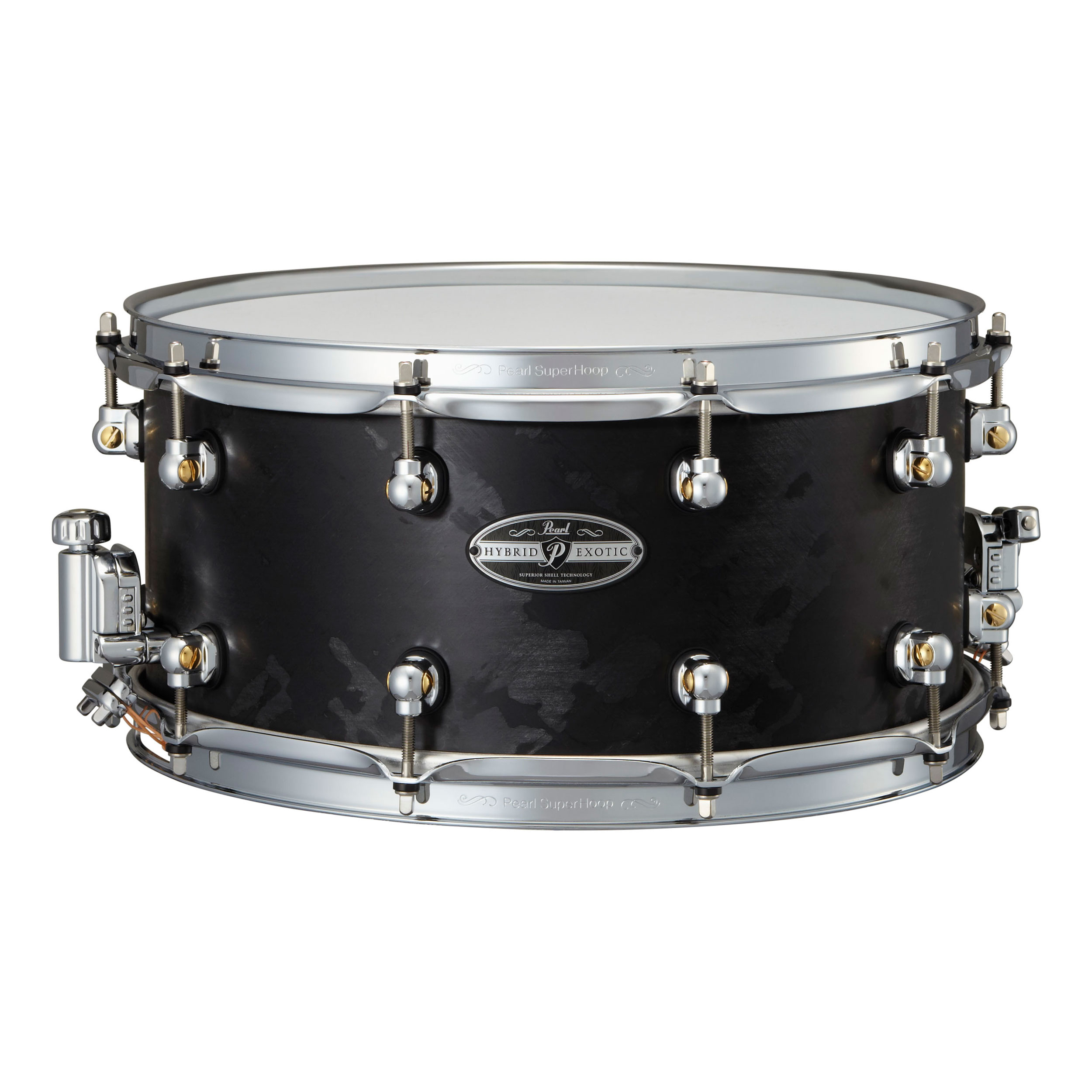 "Pearl 14"" x 6.5"" Hybrid Exotic VectorCast Snare Drum"