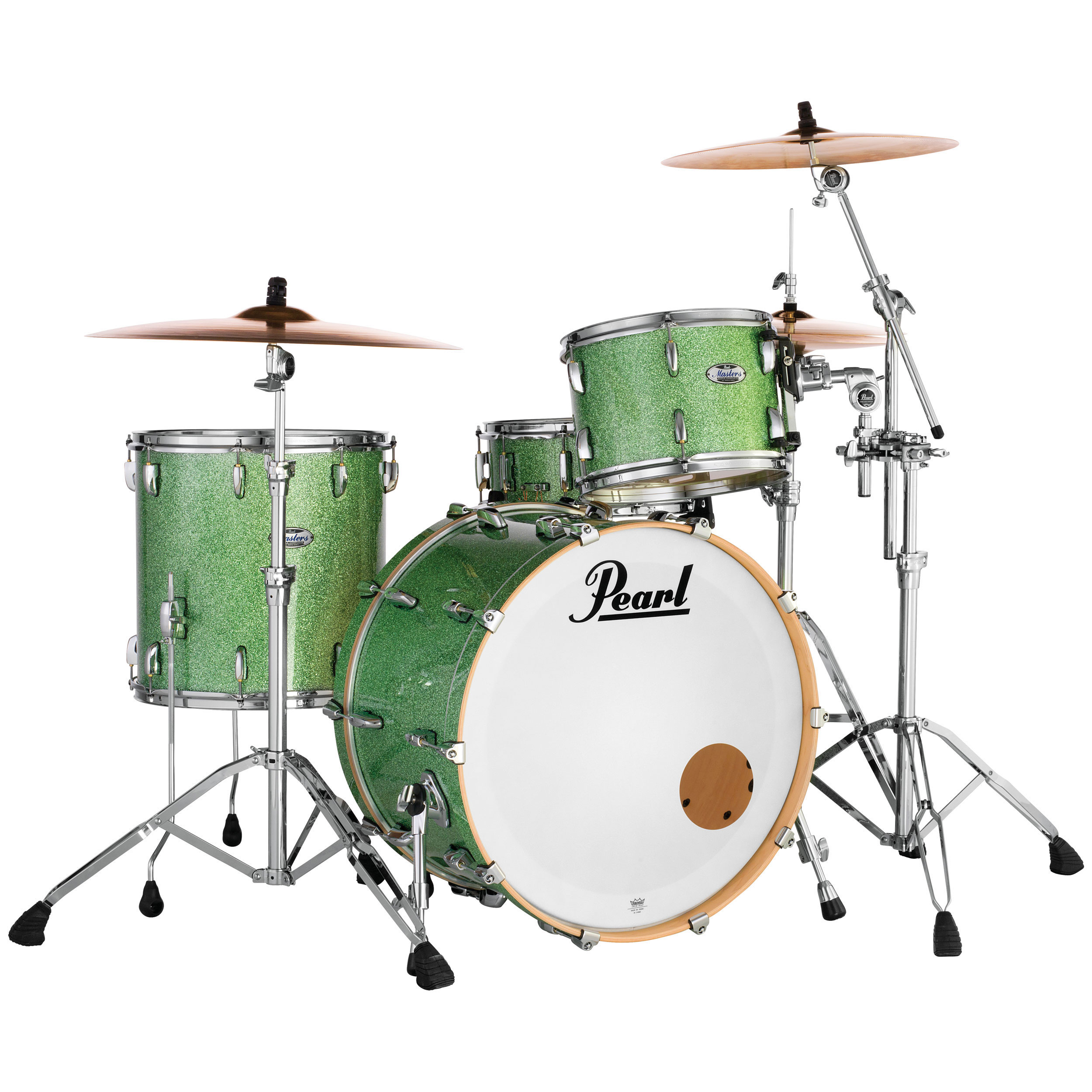"""Pearl Masters Maple Complete 3-Piece Drum Set Shell Pack (22"""" Bass, 12/16"""" Toms)"""
