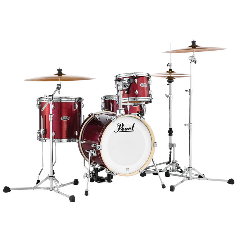 """Pearl Midtown 4-Piece Drum Set Shell Pack (16"""" Bass, 10/13"""" Toms, 13"""" Snare)"""