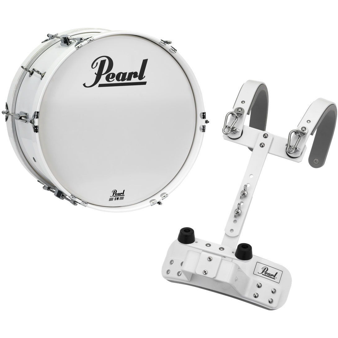 "Pearl 18"" Junior Marching Bass Drum with Carrier"