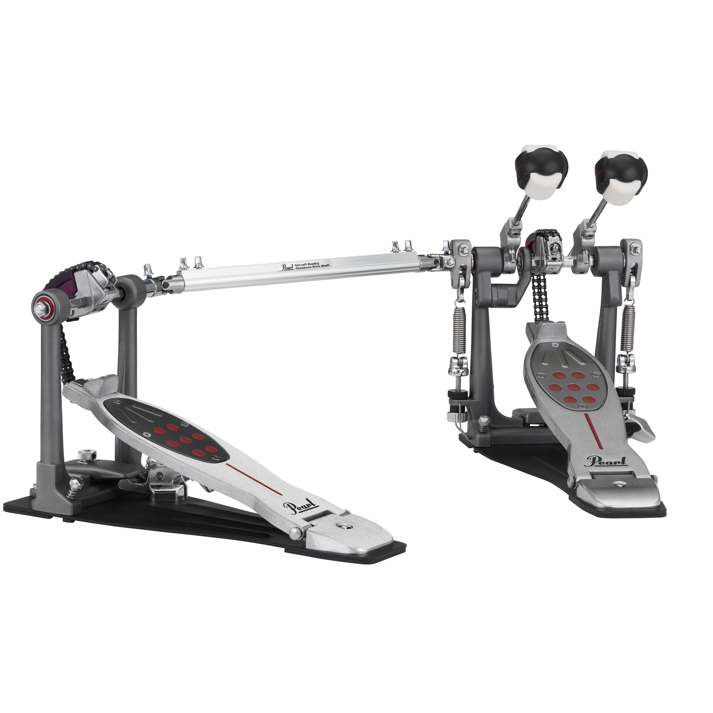 Pearl Eliminator Redline Chain Drive Double Bass Pedal with Case
