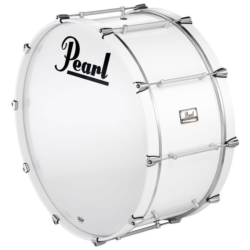 "Pearl 28"" x 16"" Pipe Band Bass Drum with Cast Lugs"