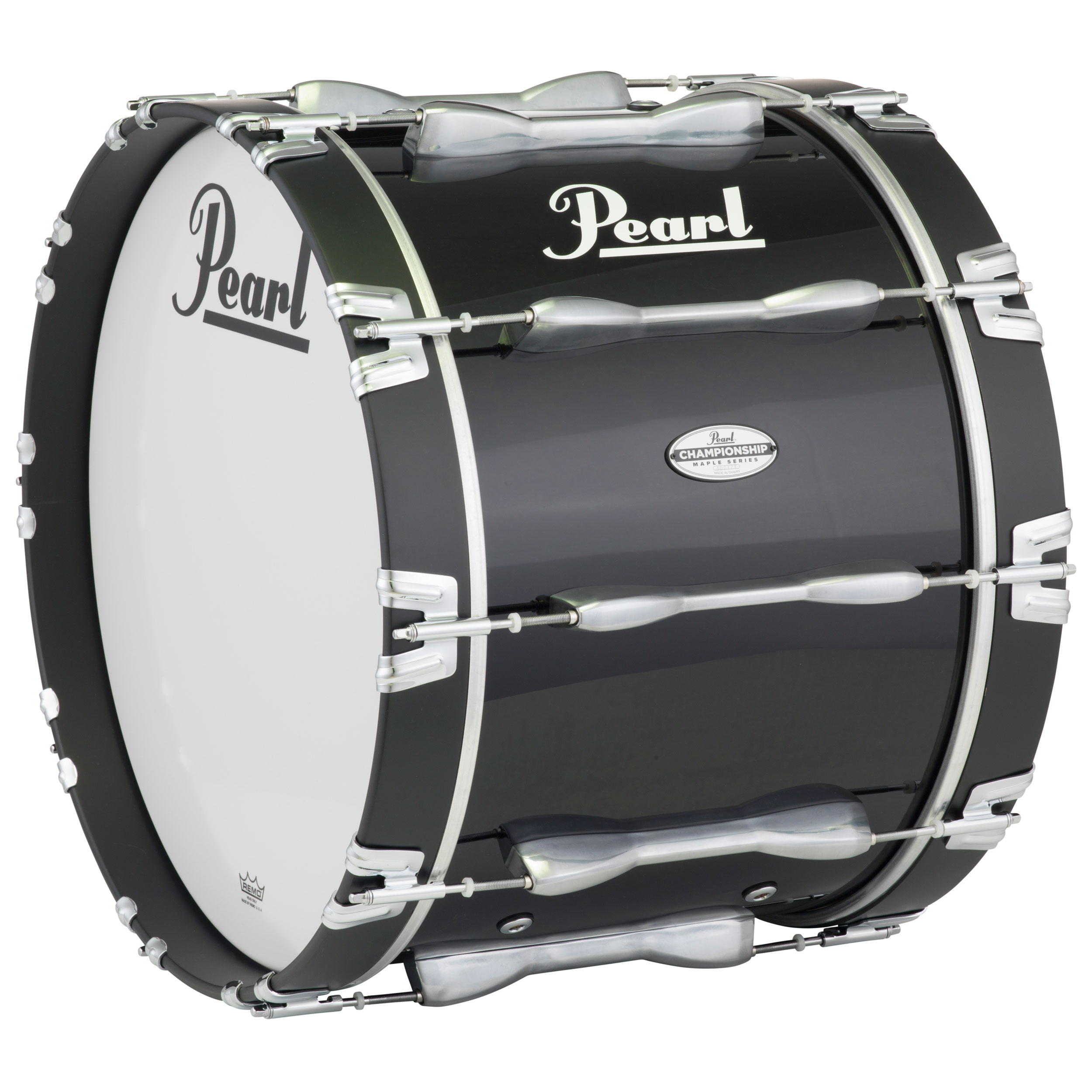 "Pearl 20"" PBDM Championship Maple Marching Bass Drum in Wrap Finish"