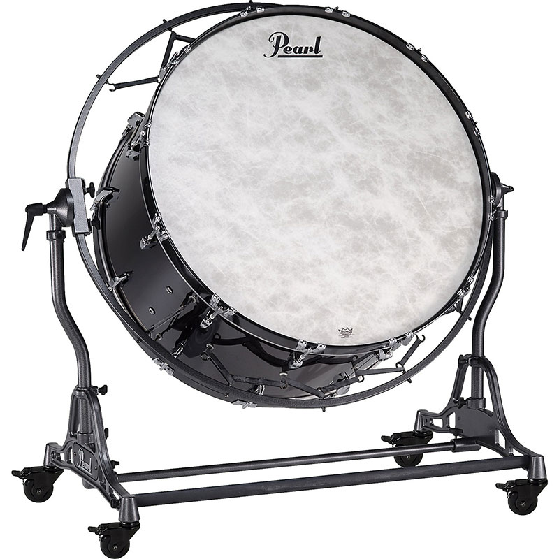 "Pearl 36"" (Diameter) x 16"" (Deep) Concert Series Kapur Concert Bass Drum with STBDF Field Frame"