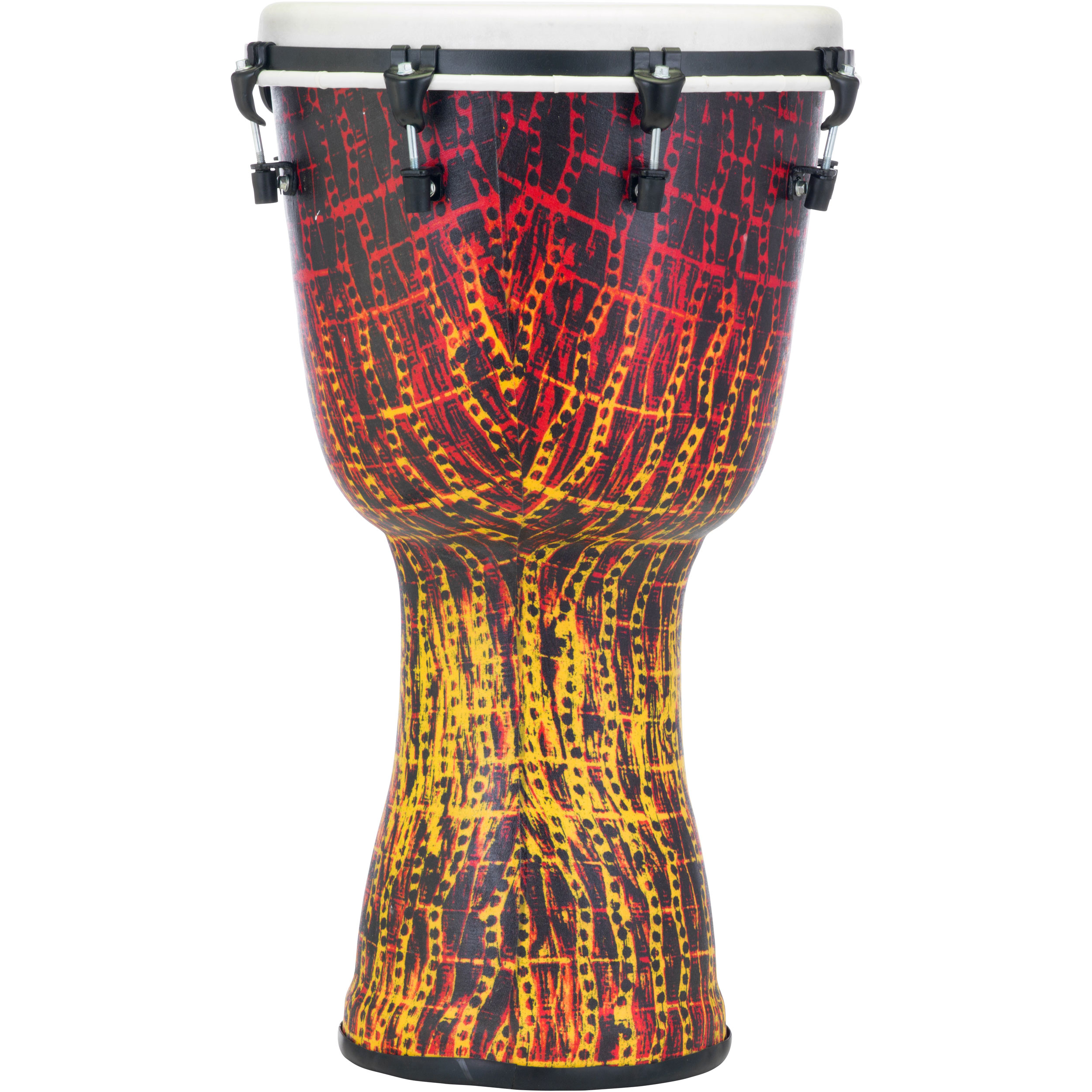 "Pearl 14"" Top Tuned Djembe in Tribal Fire"