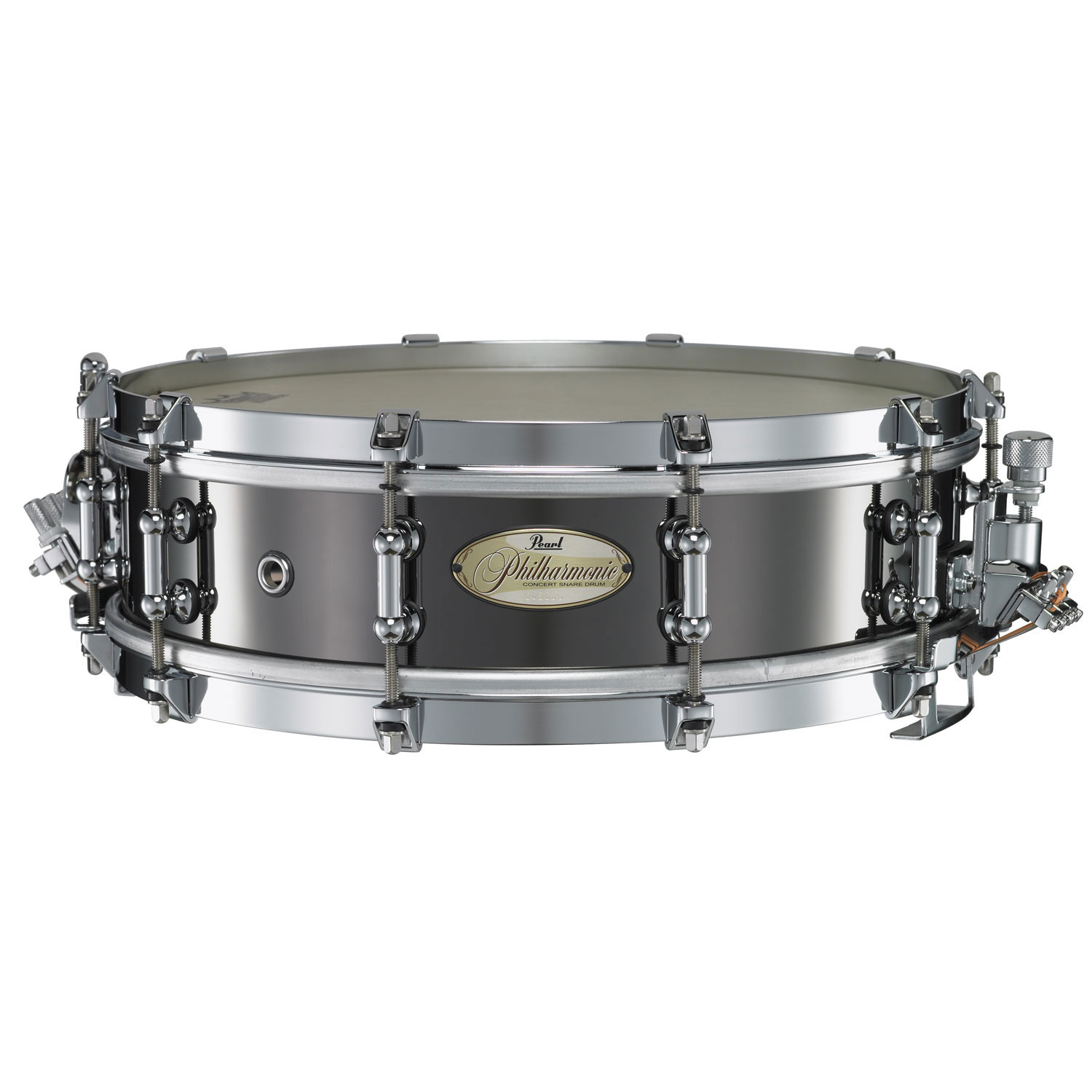"Pearl 14"" x 4"" Philharmonic 1.5mm Brass Concert Snare Drum"
