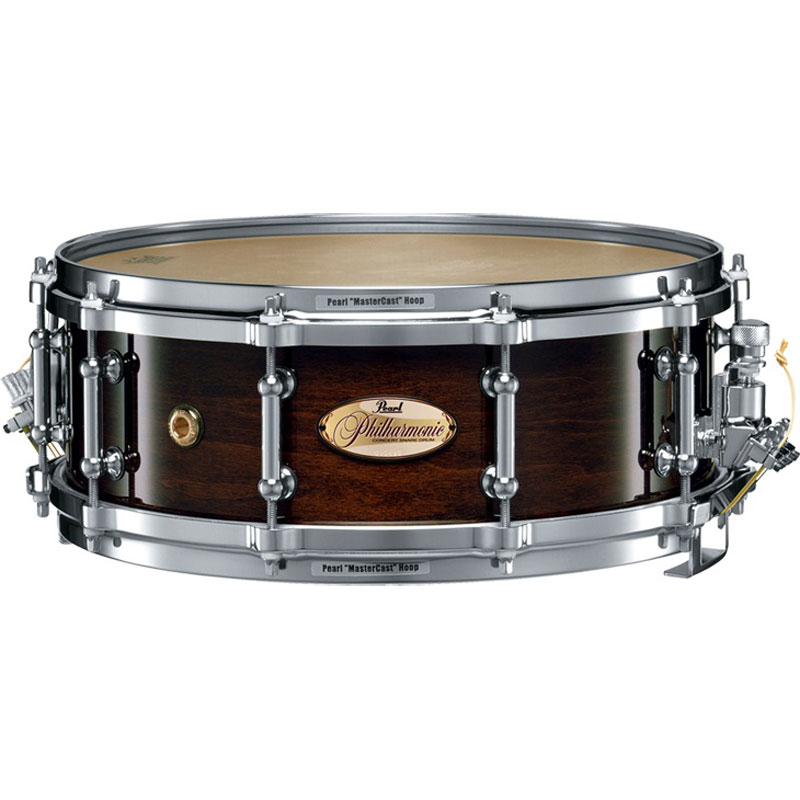 """Pearl 14"""" x 5"""" Philharmonic 6-Ply Maple Concert Snare Drum"""
