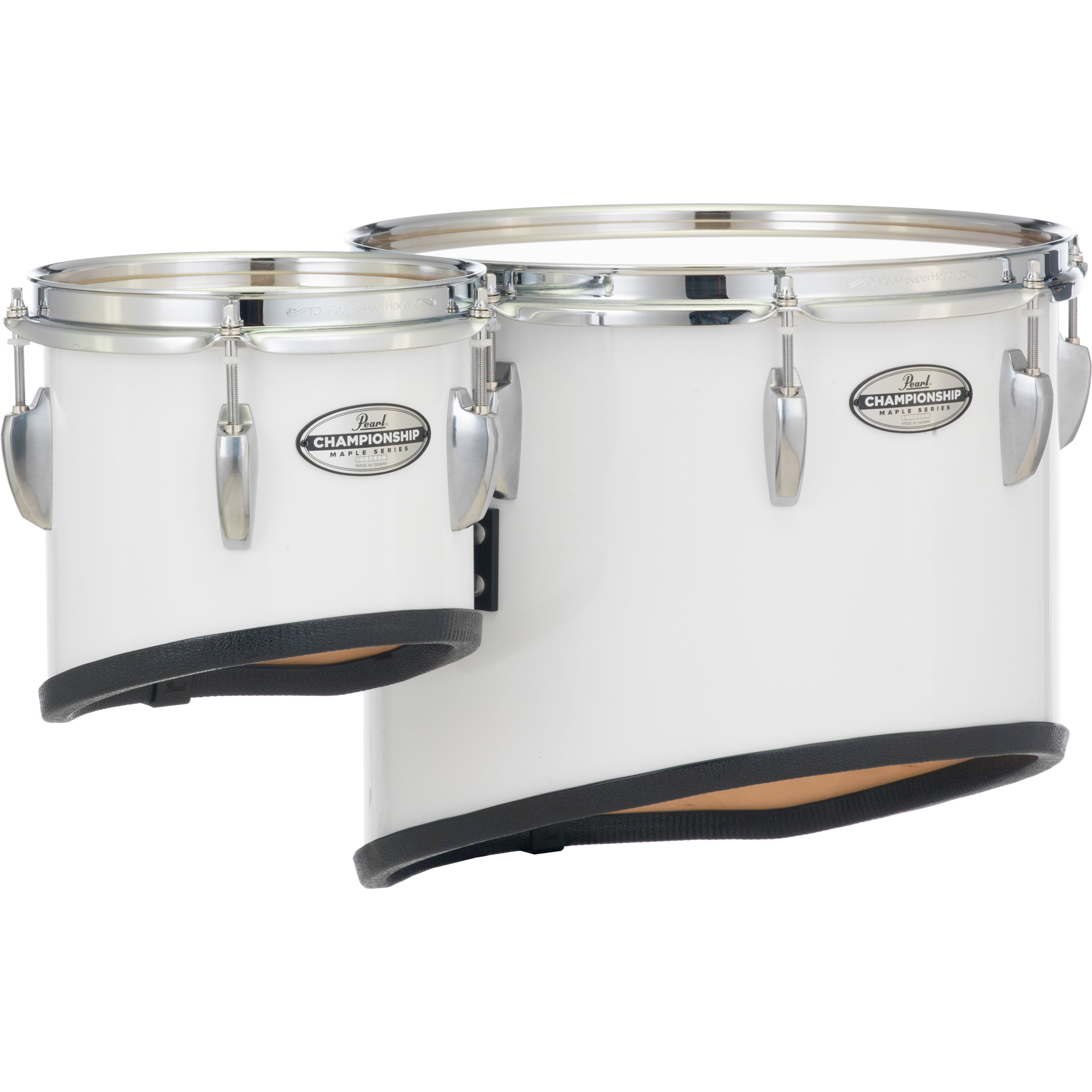 """Pearl 13"""" x 14"""" Championship Maple Sonic Cut Single Tenor with Mounts for CXS1 Carrier with Chrome Hardware (Specify Finish)"""