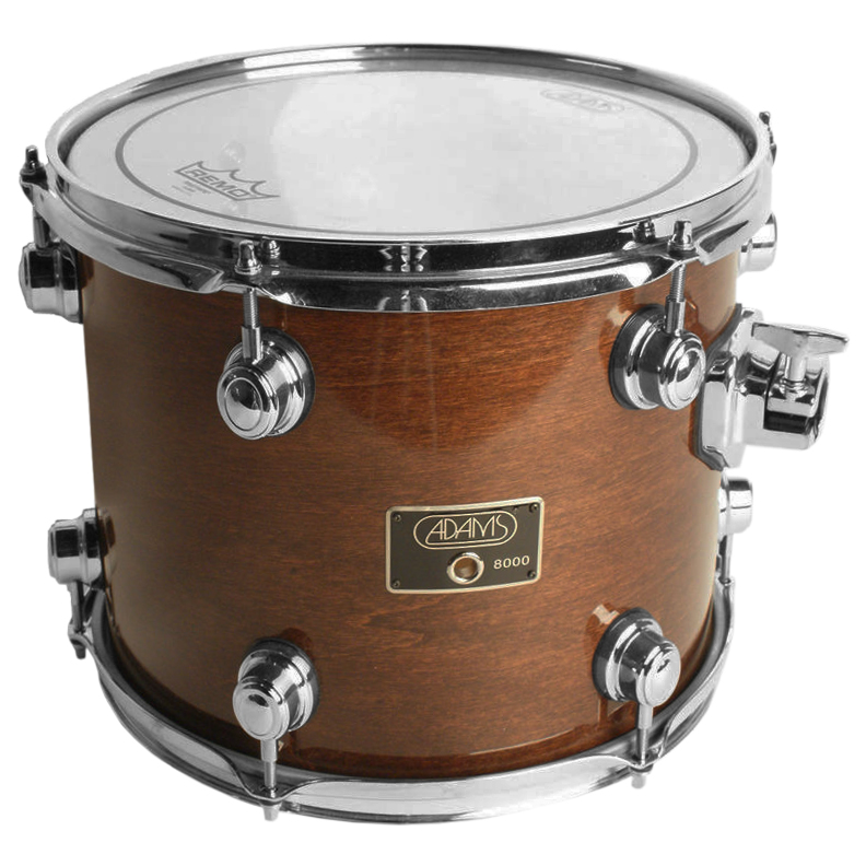 "Pearl 8"" (Diameter) x 8"" (Deep) Maple Double Headed Symphonic Tom"