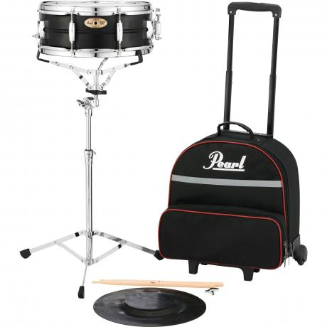 Pearl Student Snare Kit with Rolling Bag