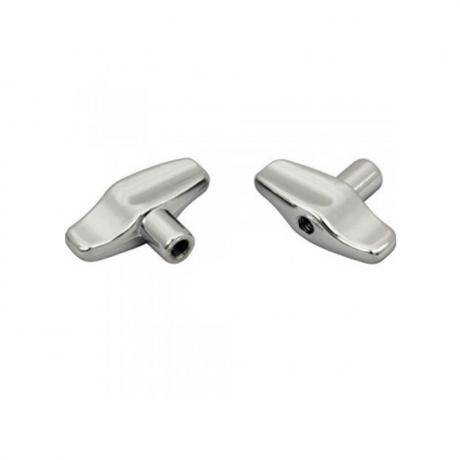 Pearl Die-Cast Wing Nuts with Washers (2-Pack)
