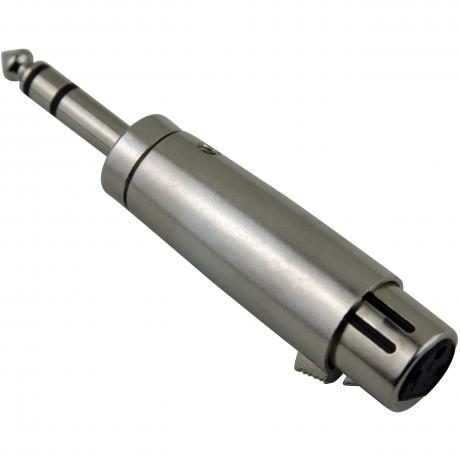 Pig Hog Solutions Female XLR to Male TRS Adapter