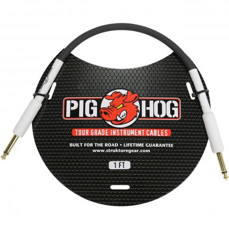 Pig Hog Solutions 1' Instrument Cable