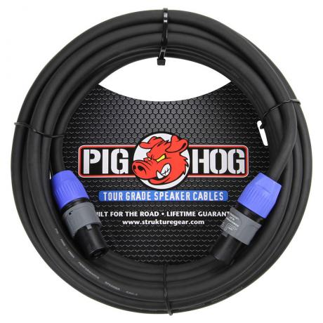 Pig Hog Solutions 50' SpeakOn Speaker Cable