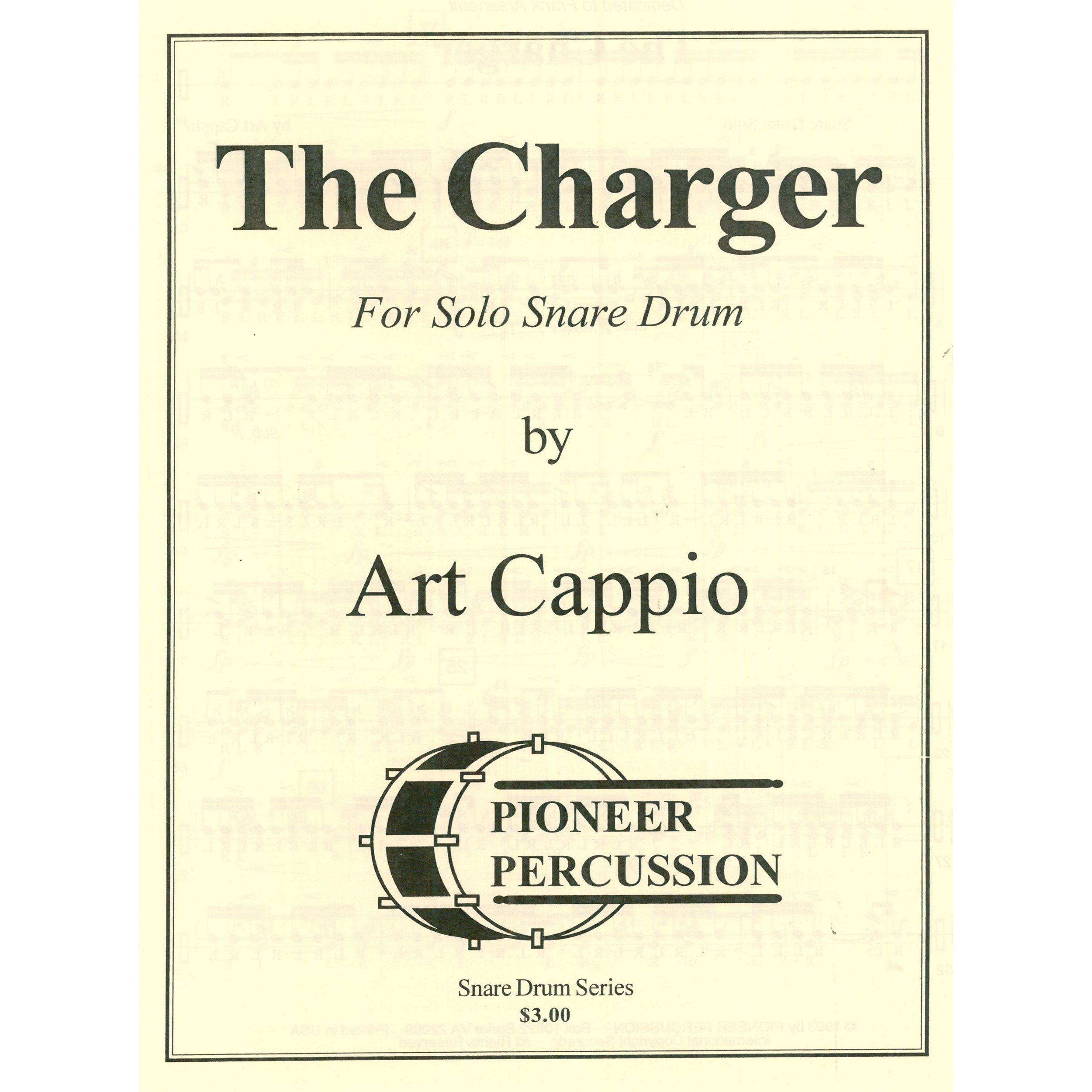 The Charger by Art Cappio