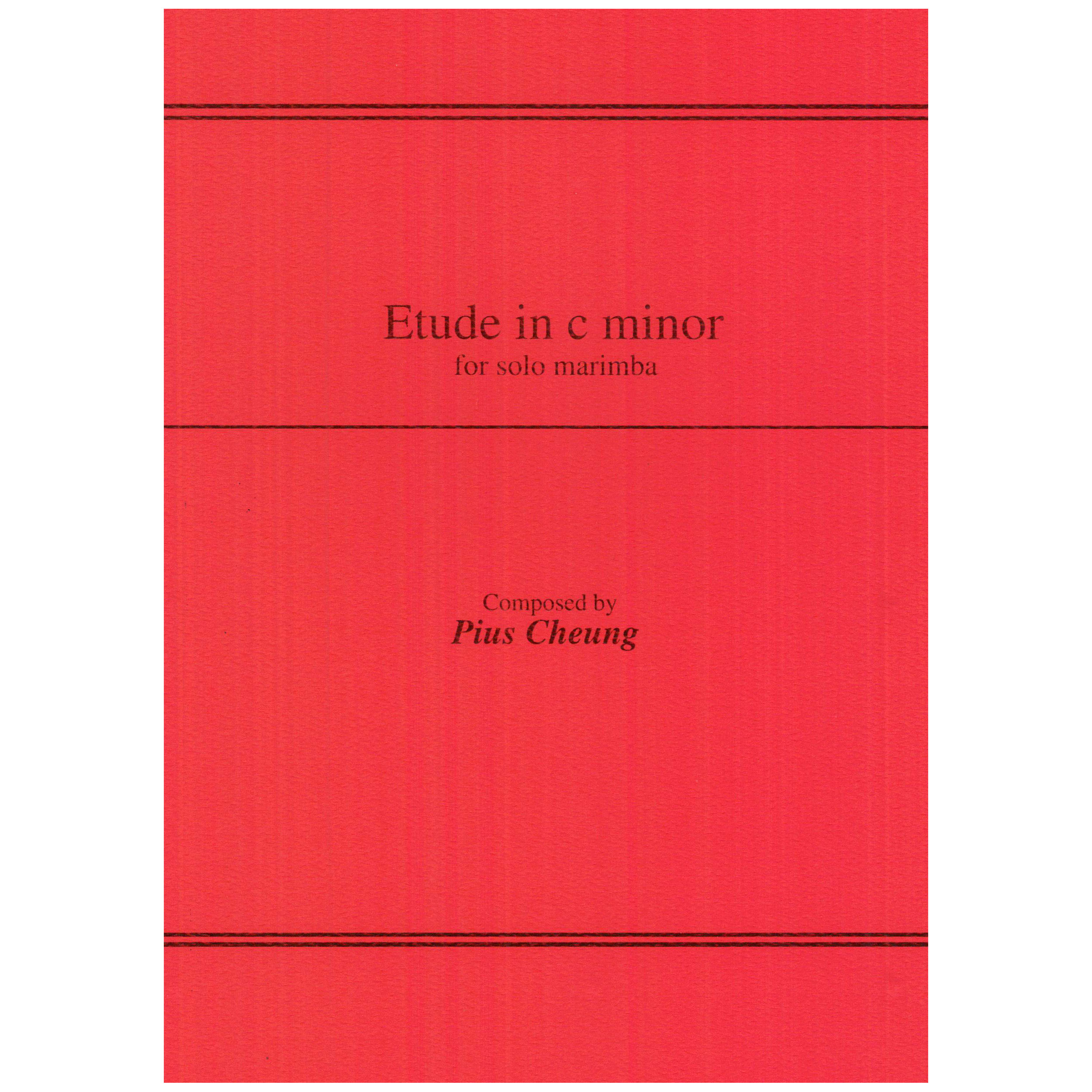 Etude in C Minor by Pius Cheung