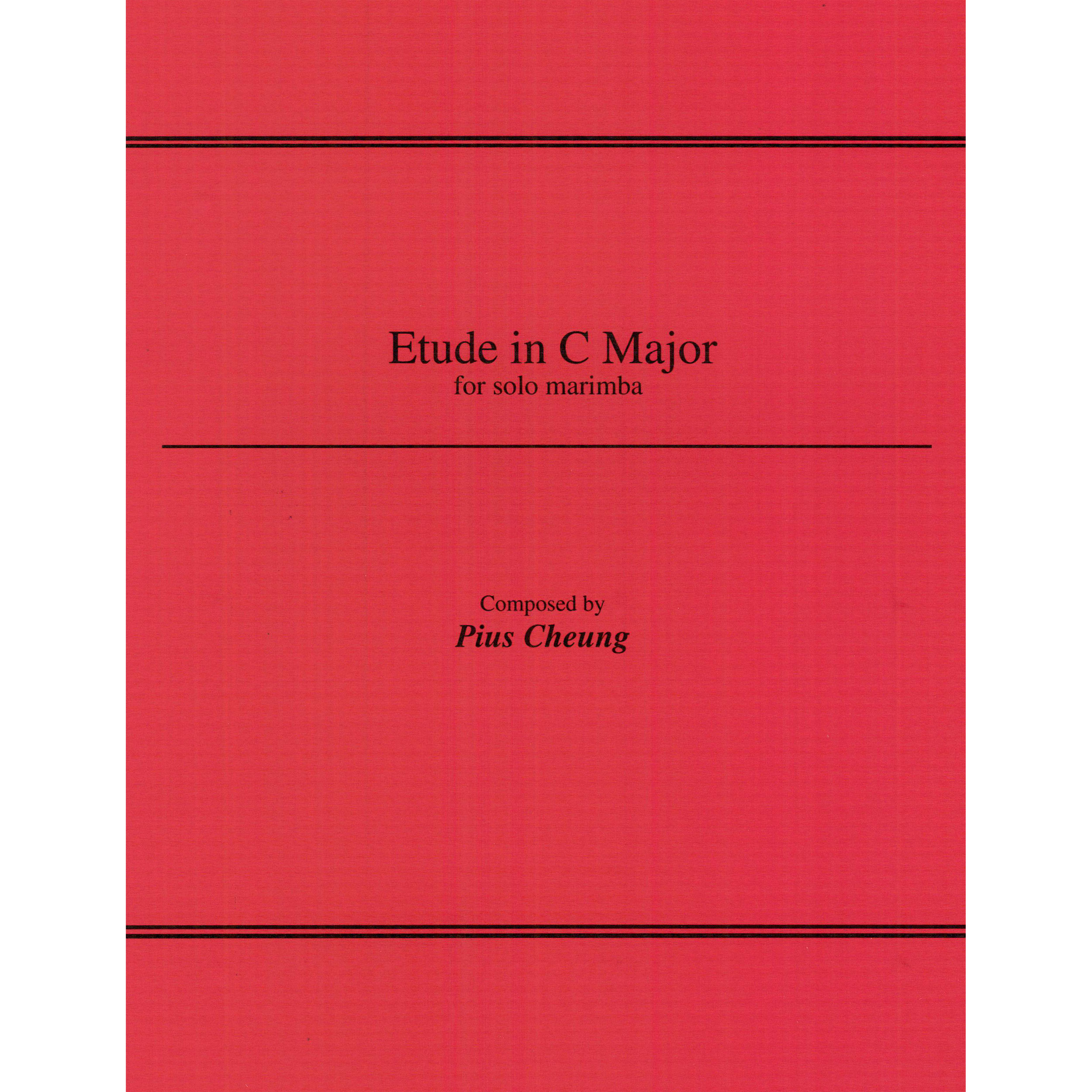 Etude in C Major by Pius Cheung
