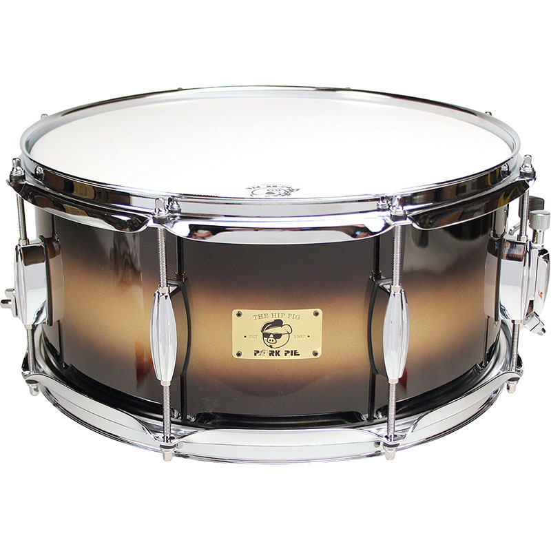 "Pork Pie Percussion 6.5"" x 14"" Hip Pig Snare Drum"