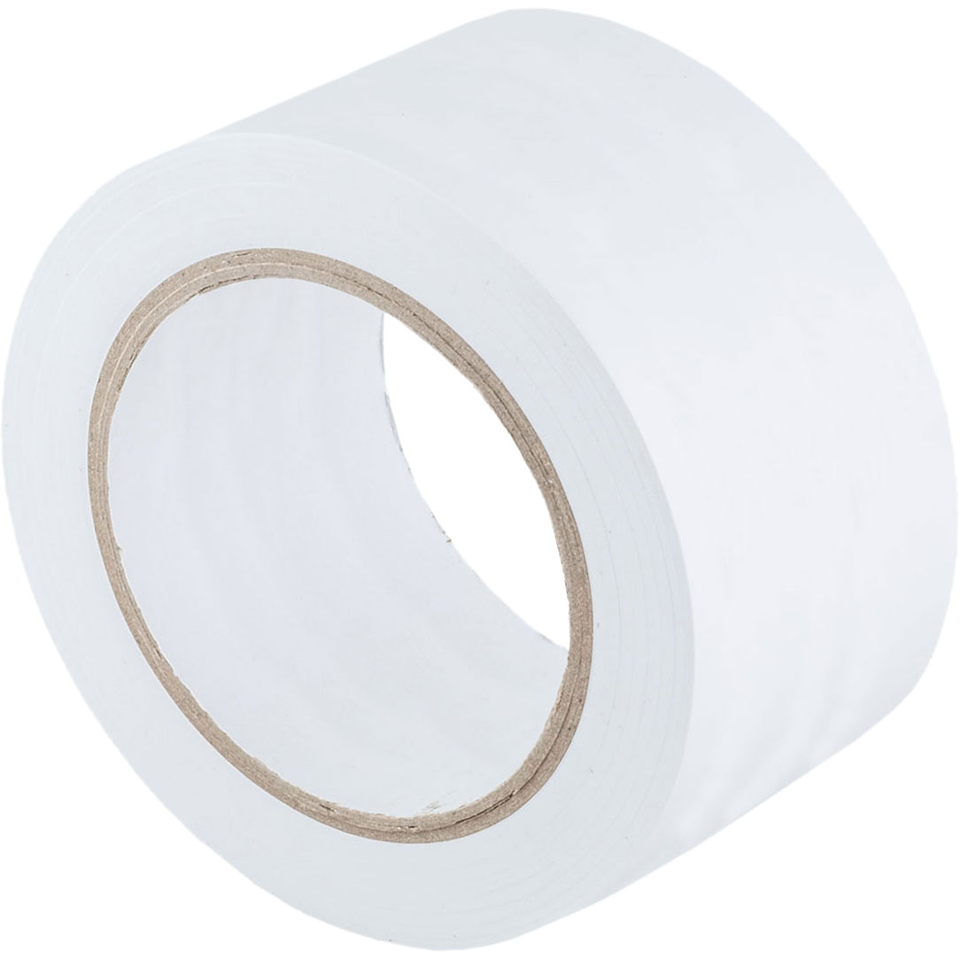 "Shot Tape 2"" Wide White Stick Tape"